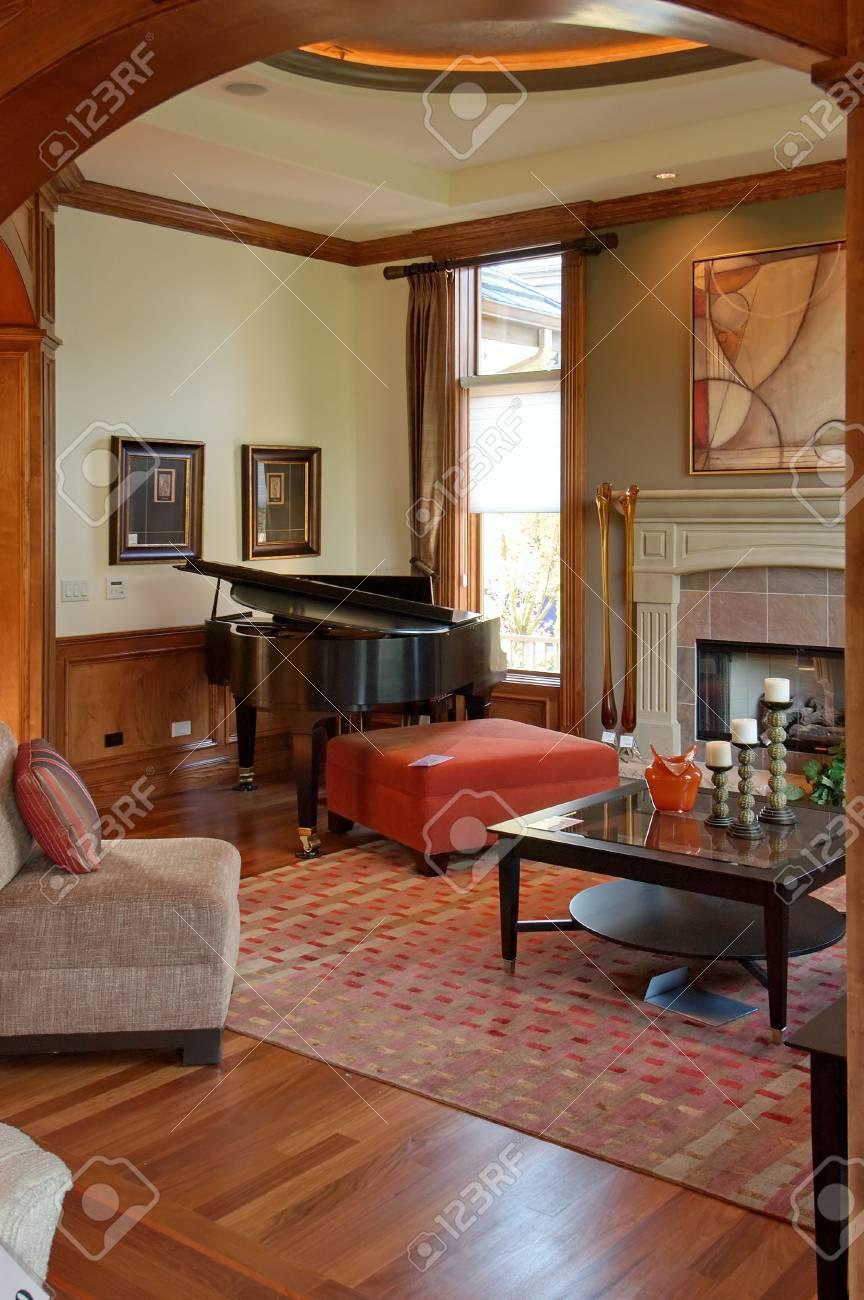 Beautiful Living Room Stock Photo - 2257599