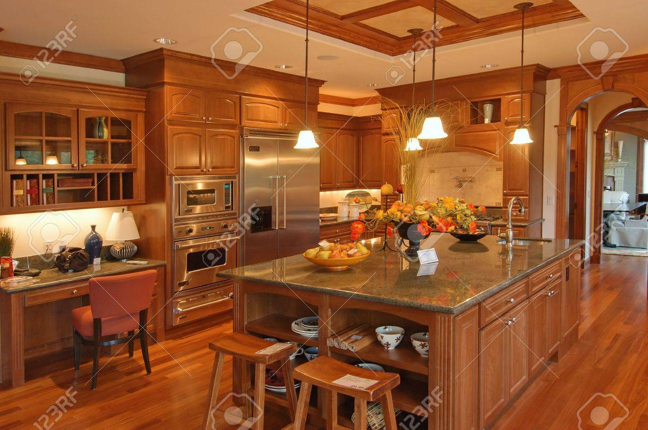 Luxury Kitchen Luxury Kitchen Stock Photo Picture And Royalty Free Image Image