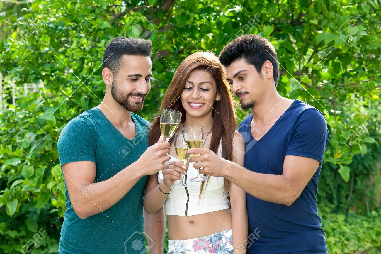 Dating two men friends
