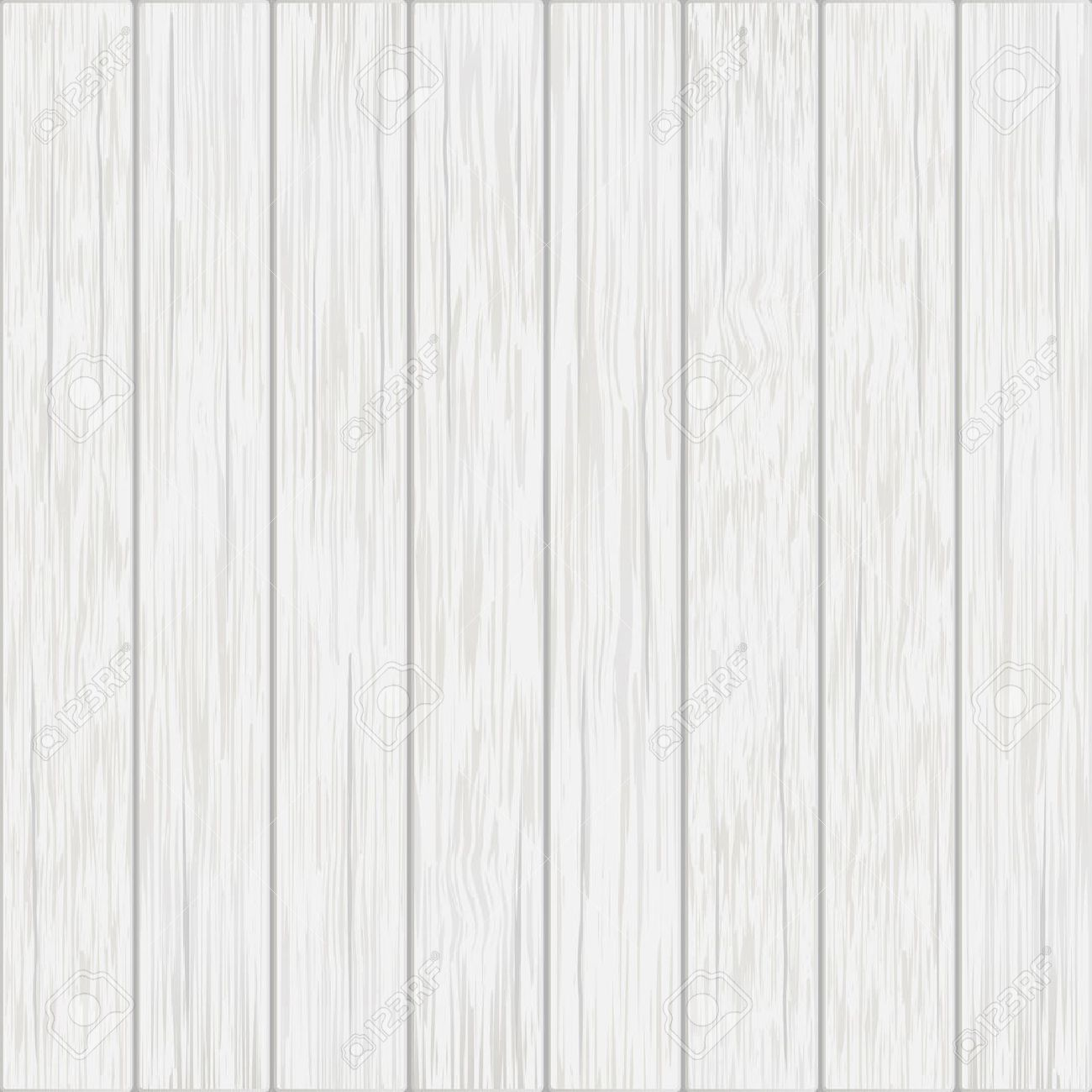 white wood boards - vector background Stock Vector - 44229880