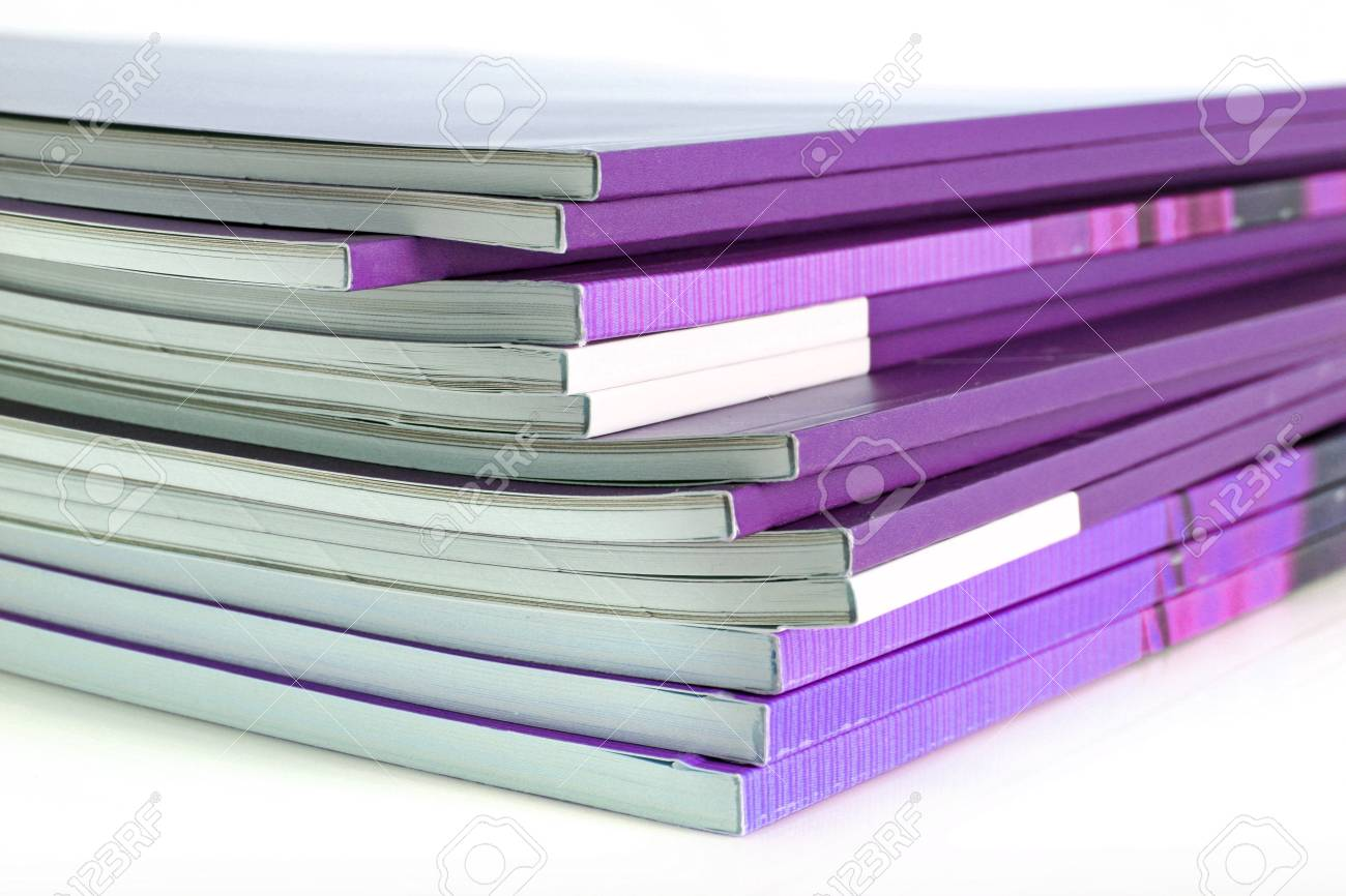 Many color magazines Stock Photo - 7157469
