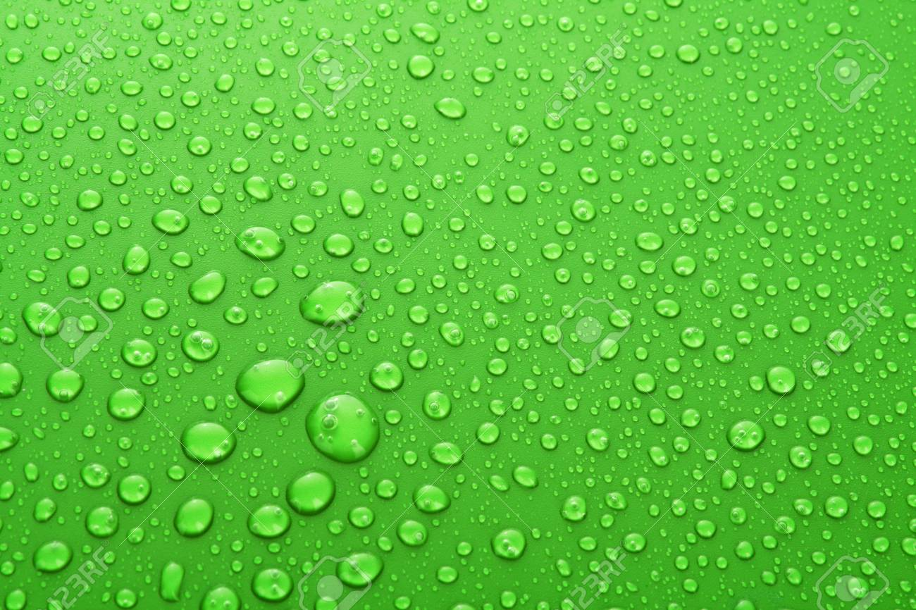 Water Drops background with big and small drops Stock Photo - 7185902