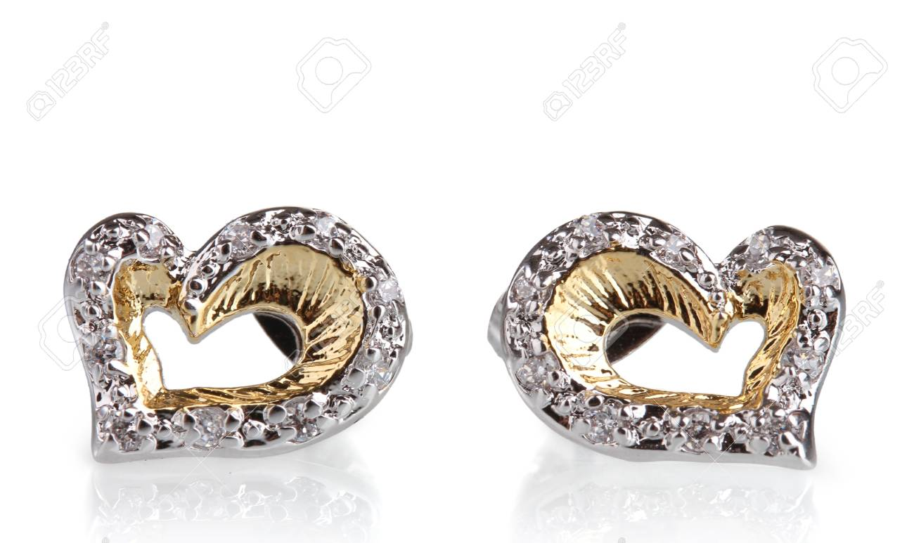 online silver product beautiful plated fancy new vorra gold look earrings fashion buy