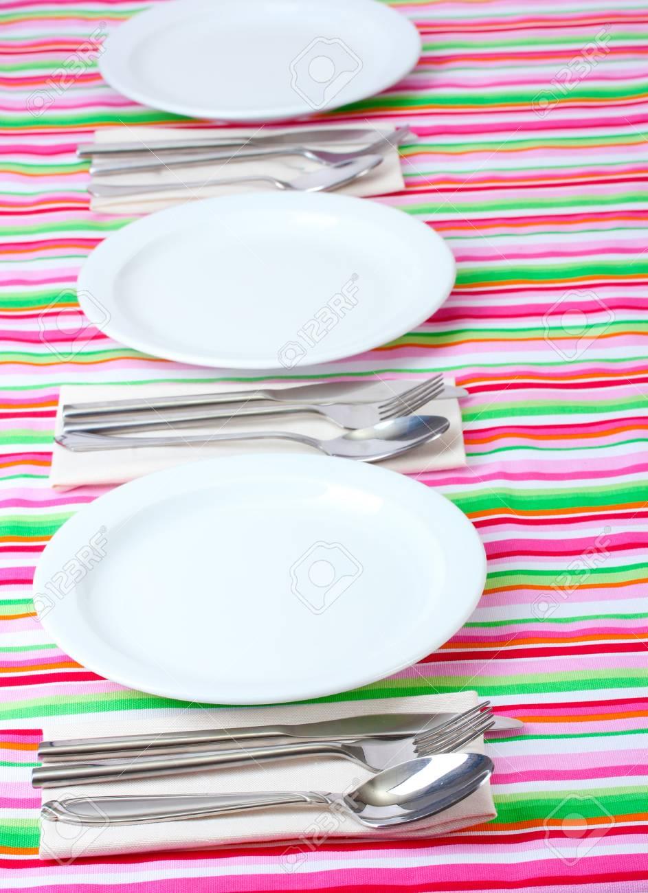 elegant holiday table setting Stock Photo - 12979480
