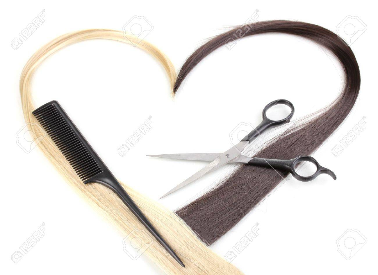 Ciseaux pour couper les cheveux