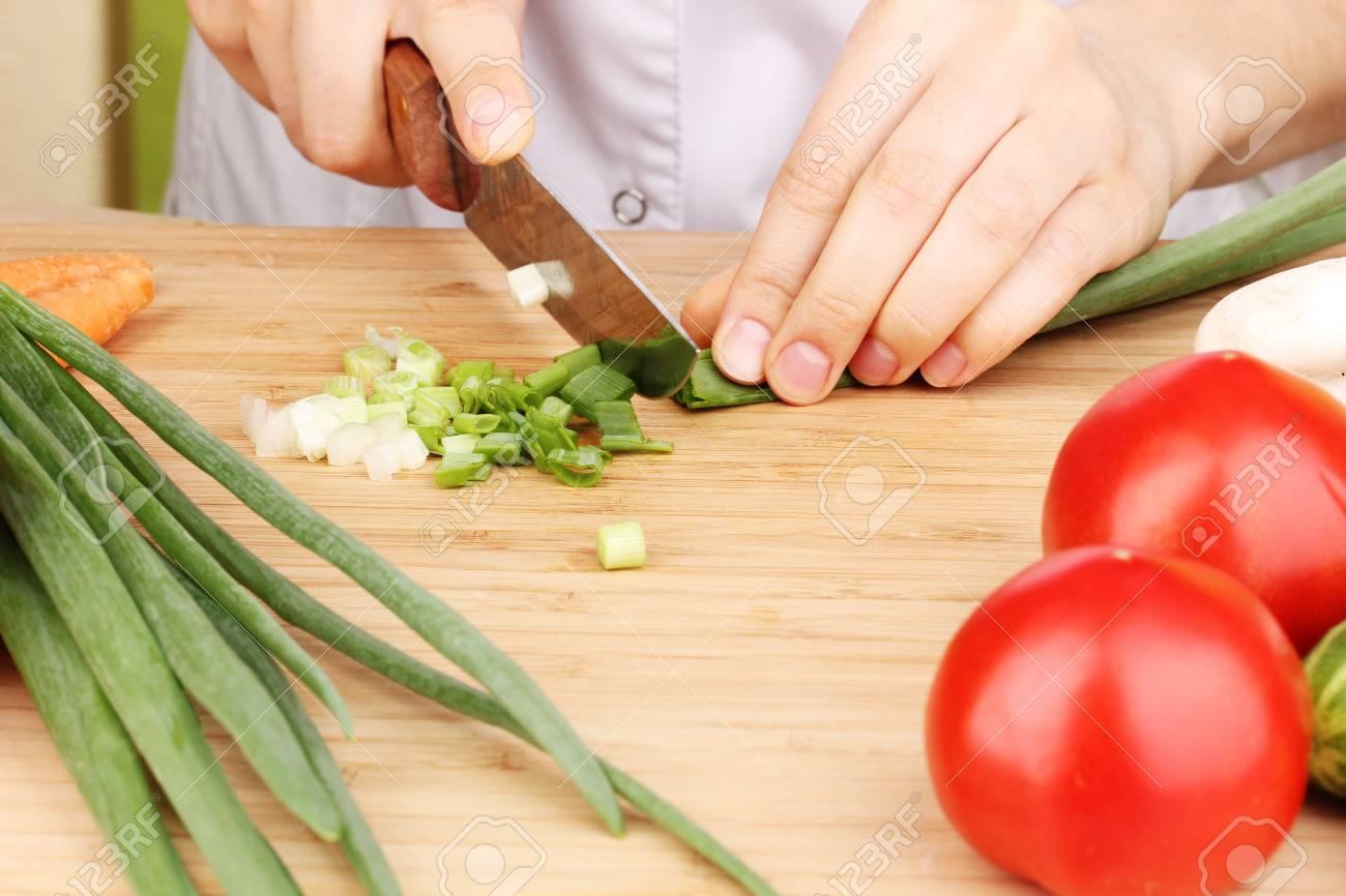 Chopping food ingredients Stock Photo - 14222883