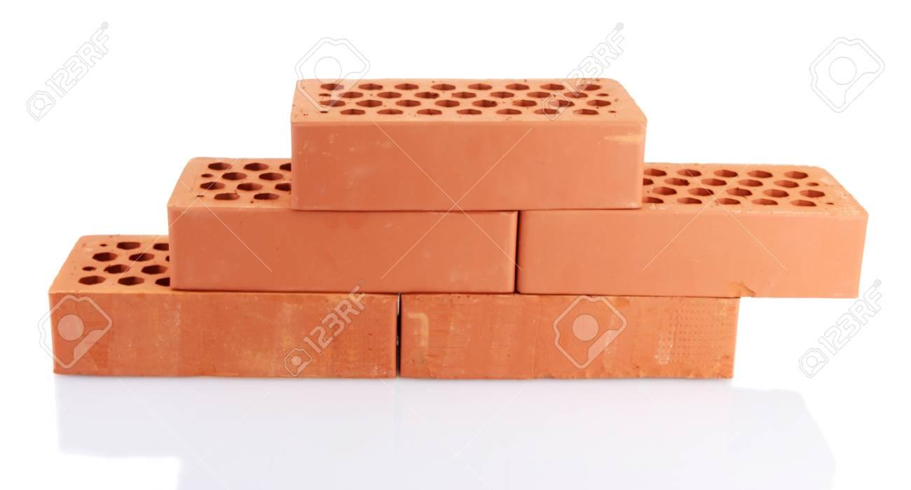 bricks, isolated on white Stock Photo - 16344661