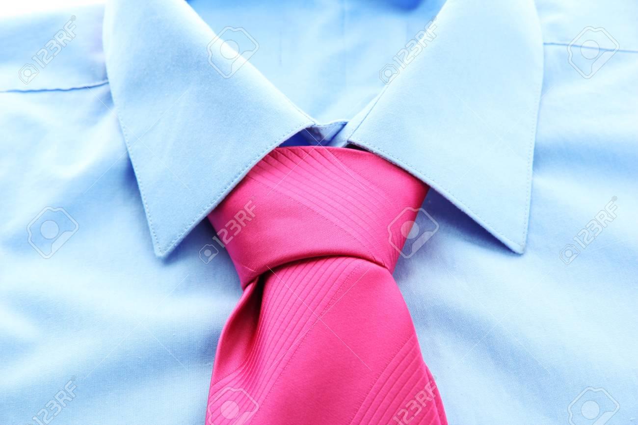 tie on shirt close-up Stock Photo - 17264201