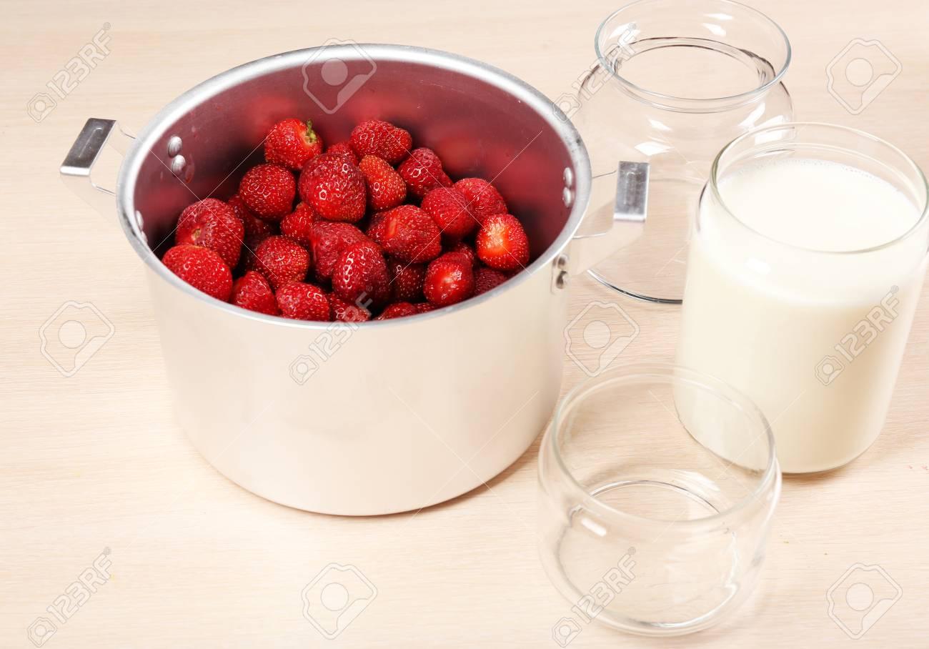 confiture de fraise delicieuse