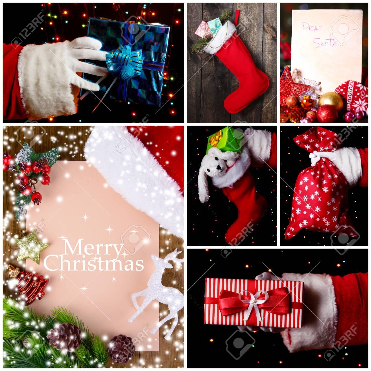 Foto Collage Di Natale.Immagini Stock Collage Di Natale Image 33808236