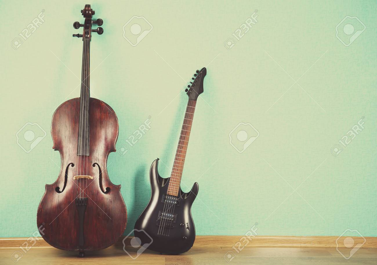 ターコイズで楽器の壁紙の背景 の写真素材 画像素材 Image 45316690
