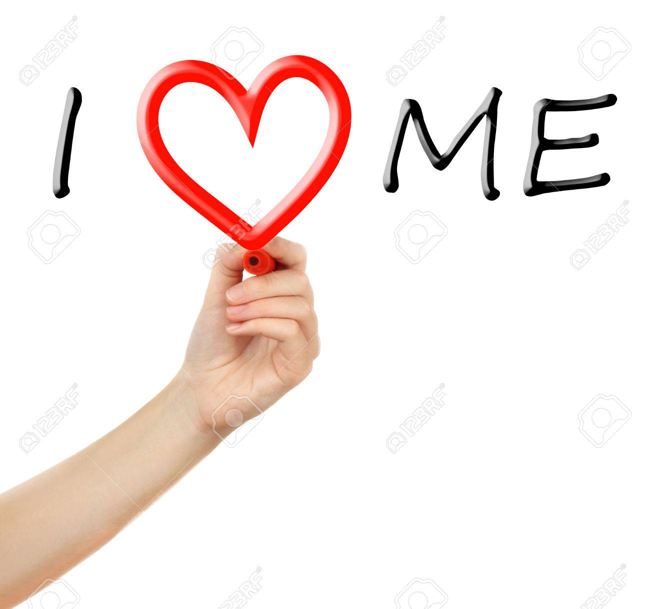 Love yourself concept hand writing i love me on transparent love yourself concept hand writing i love me on transparent whiteboard stock photo 67407870 buycottarizona