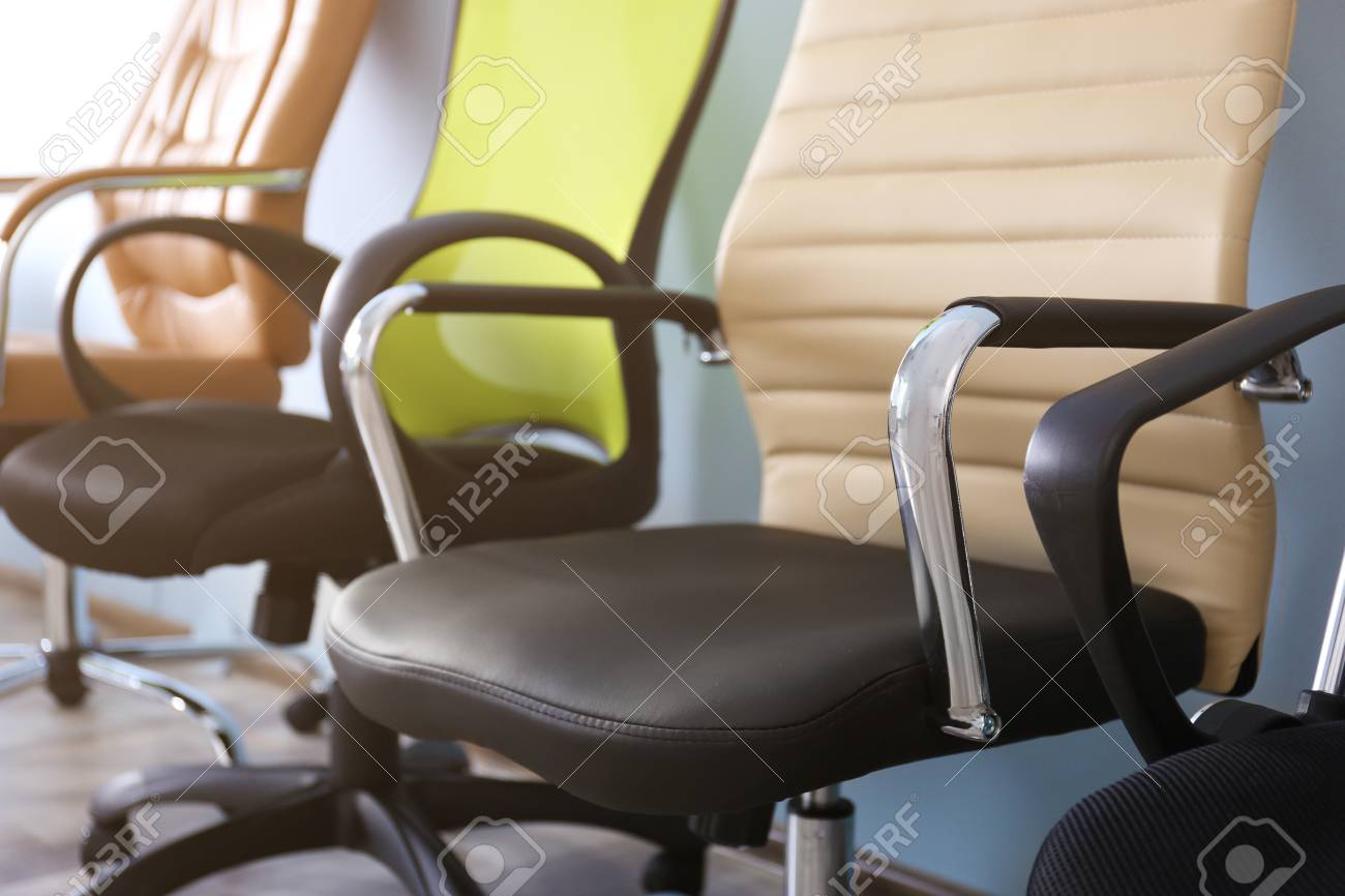 New Office Chairs Closeup Stock Photo Picture And Royalty Free Image Image 95746116