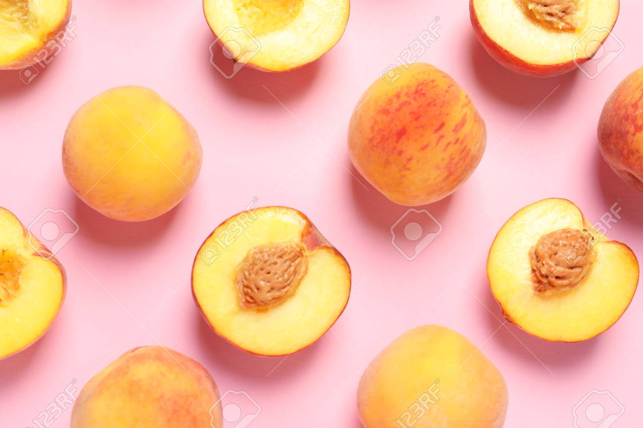 Pictures Of Peaches To Color