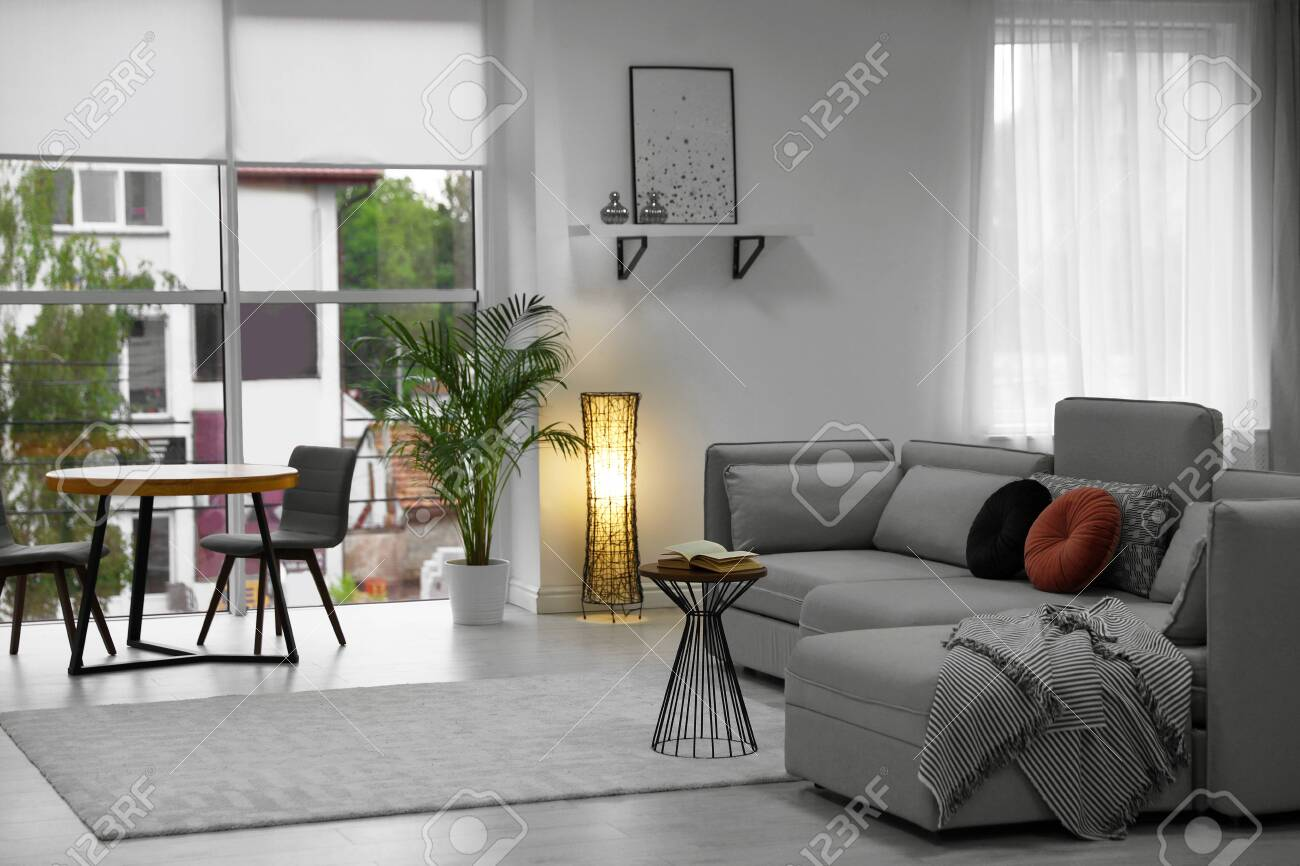 Cozy Living Room With Modern Furniture And Stylish Decor Ideas