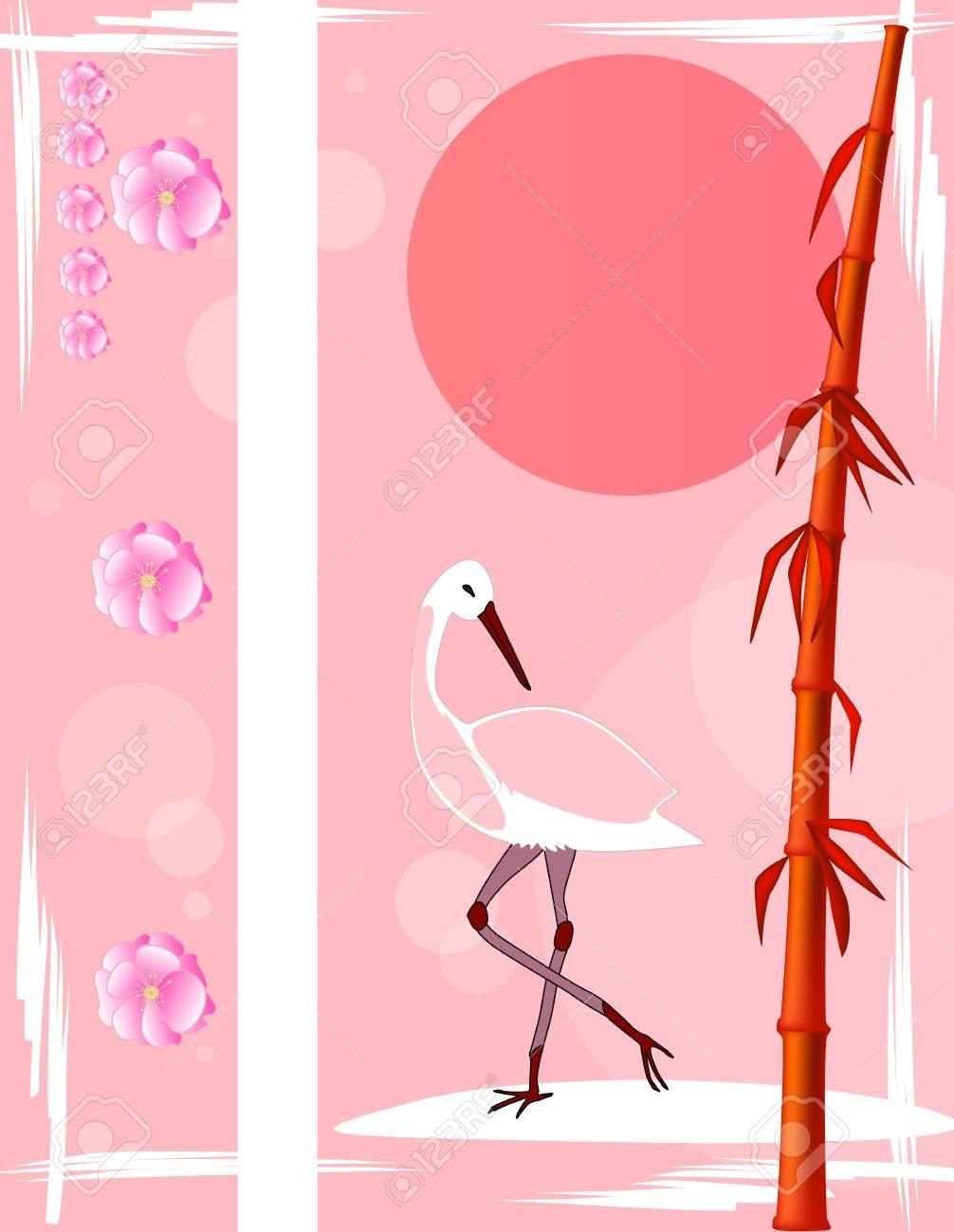 和風ファンタジーのイラスト素材ベクタ Image 17170056