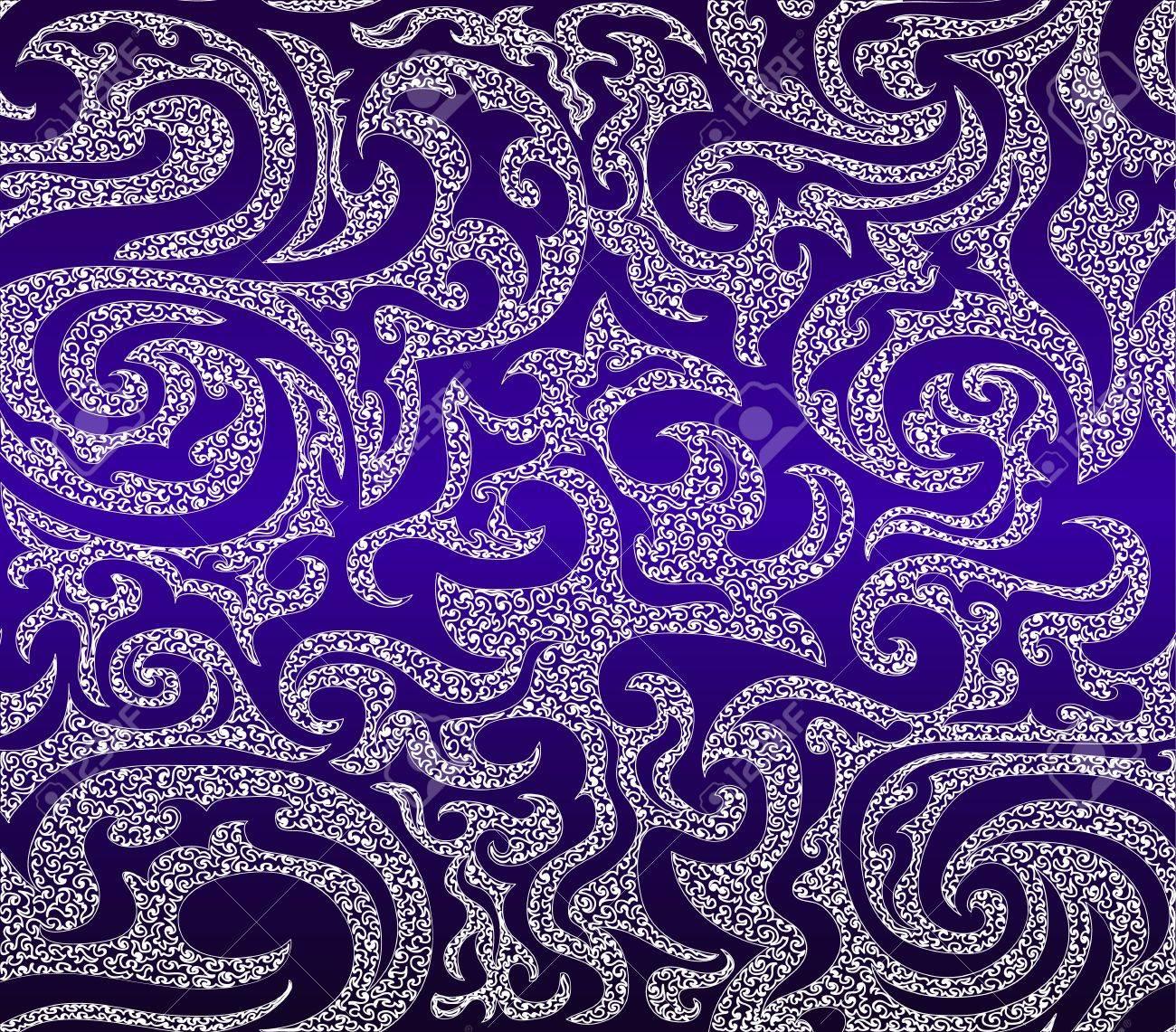 Beautiful cosmic figured seamless pattern Stock Vector - 21599994
