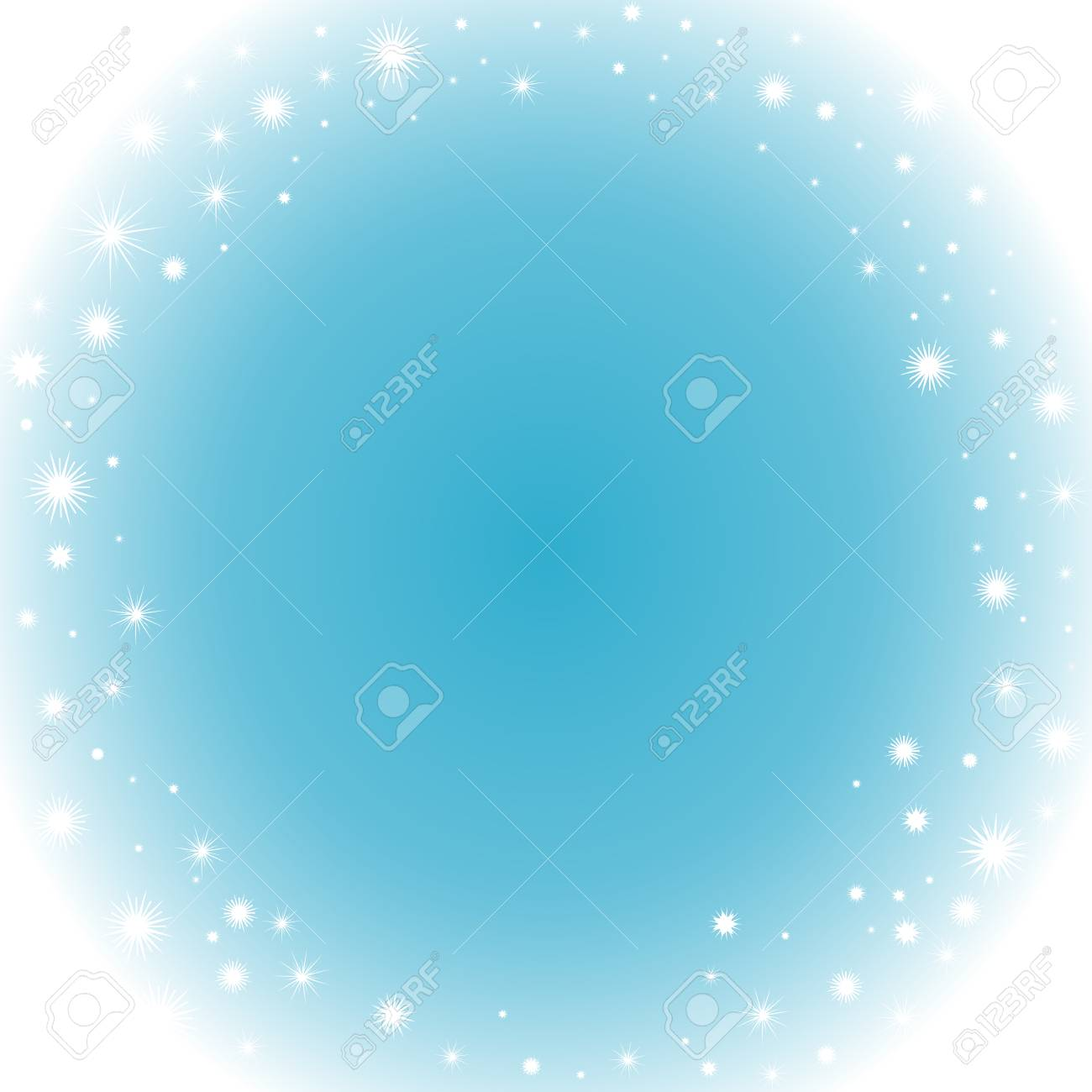 happy new year and merry christmas frozen vector background with snowflakes stock vector 48490617
