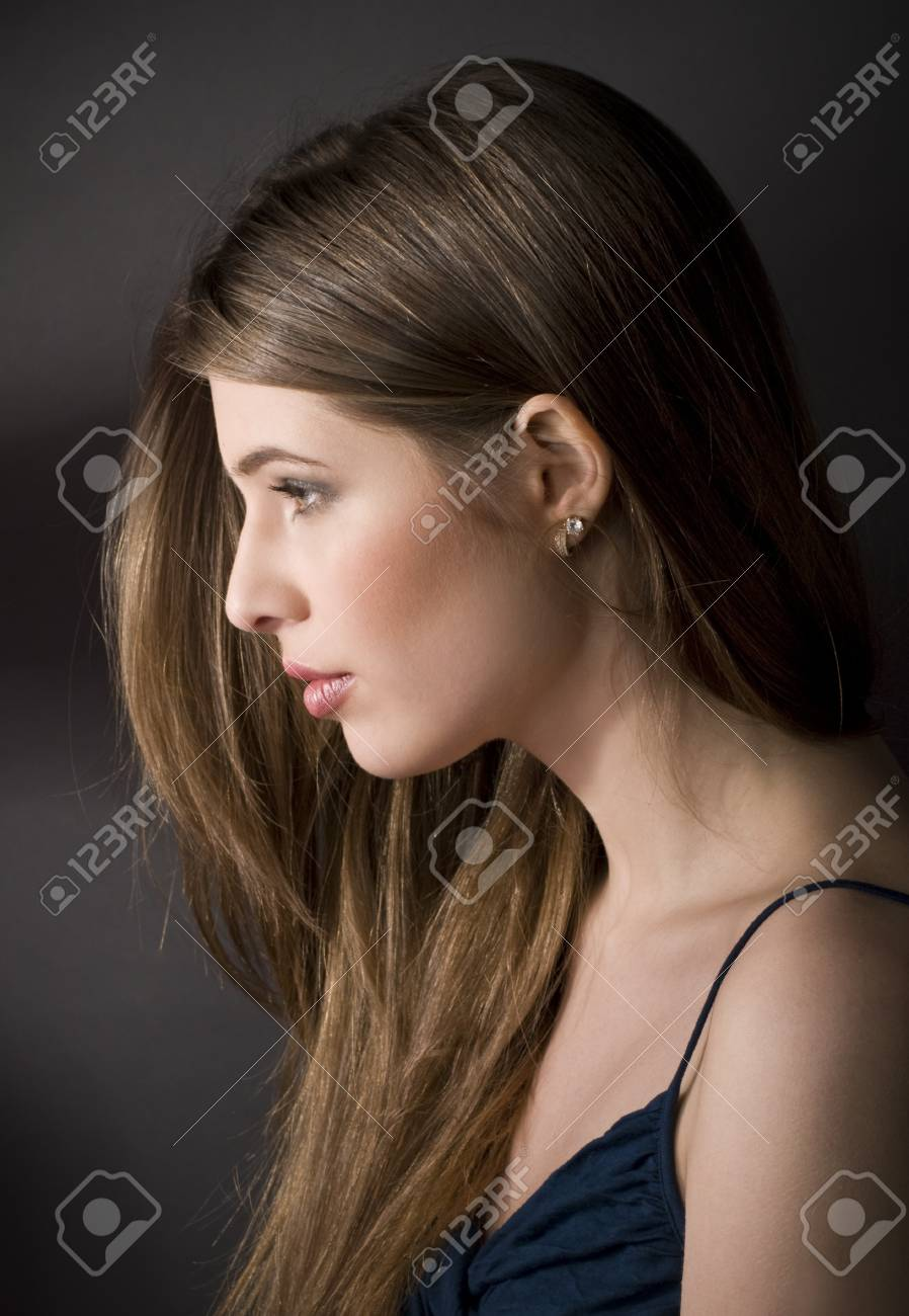 Portrait of a calm beautiful young woman Stock Photo - 9372062