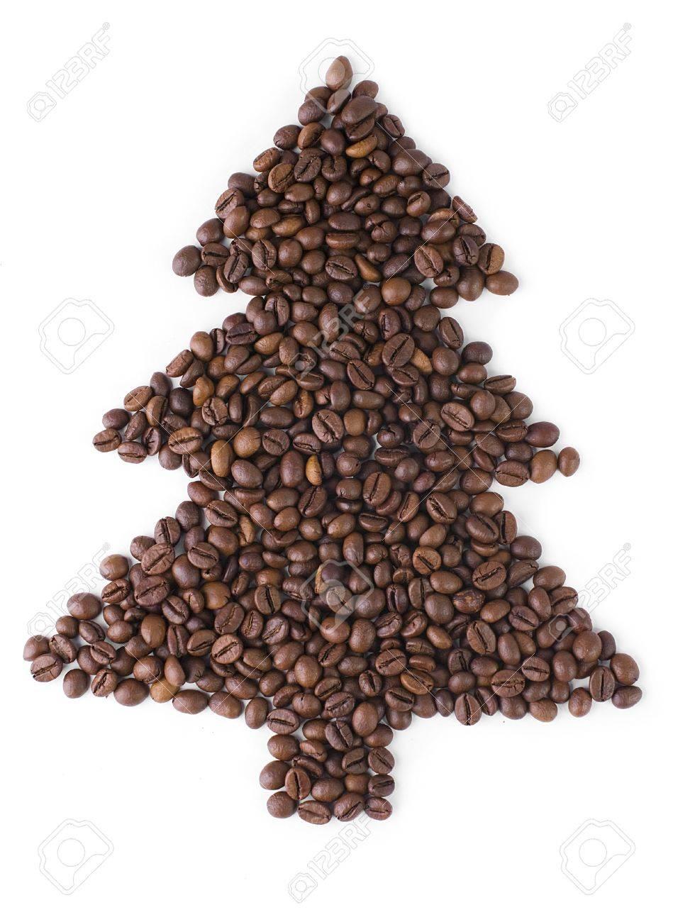 Albero Di Natale Java.Albero Di Natale A Base Di Chicchi Di Caffe