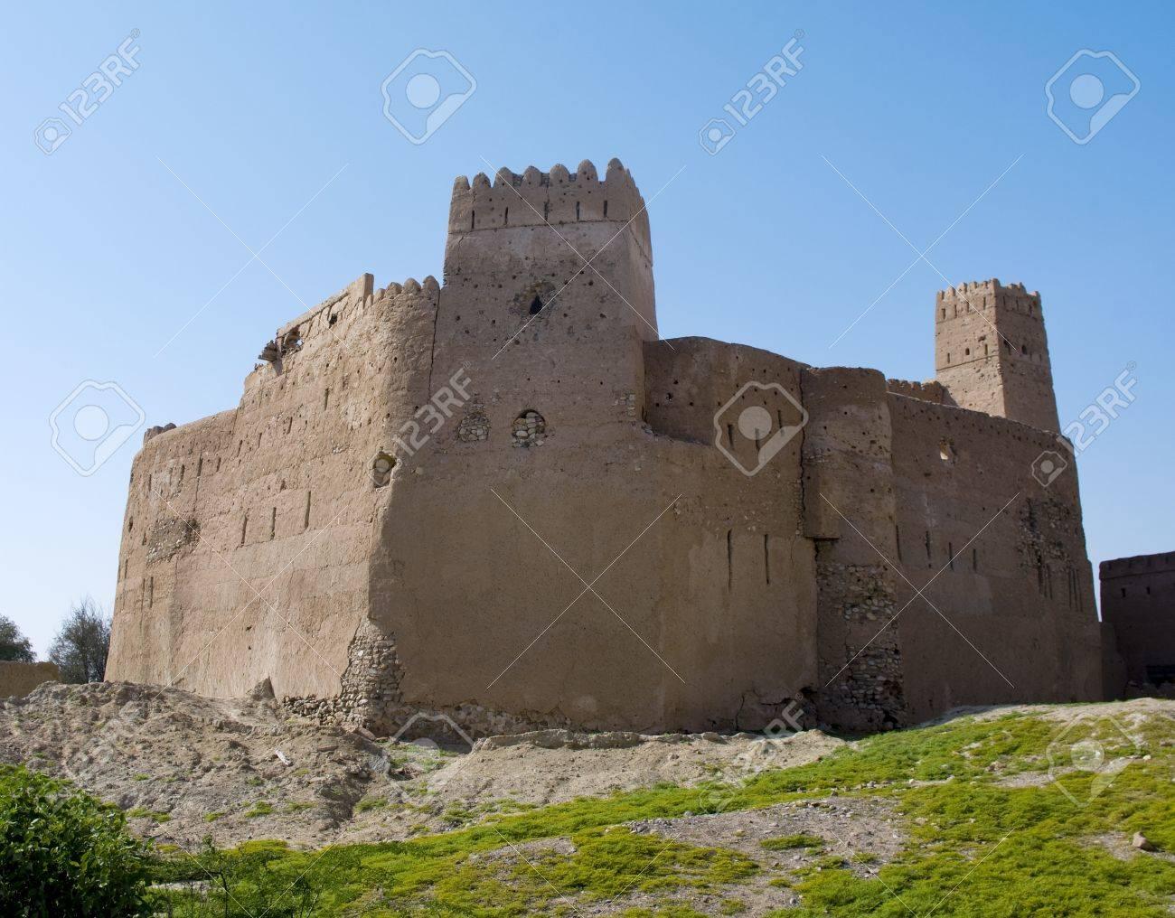Fort Jalan Bani Bu Ali, Hammouda Al-Qala,Sultanate of Oman, Middle East Stock Photo - 16702821