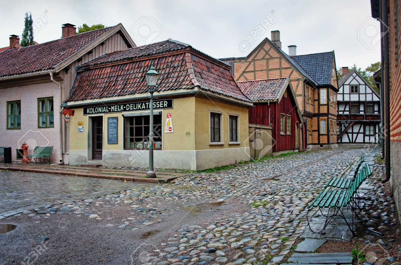OSLO, NORWAY - SEPT 20, 2014: The Norwegian Museum of Cultural