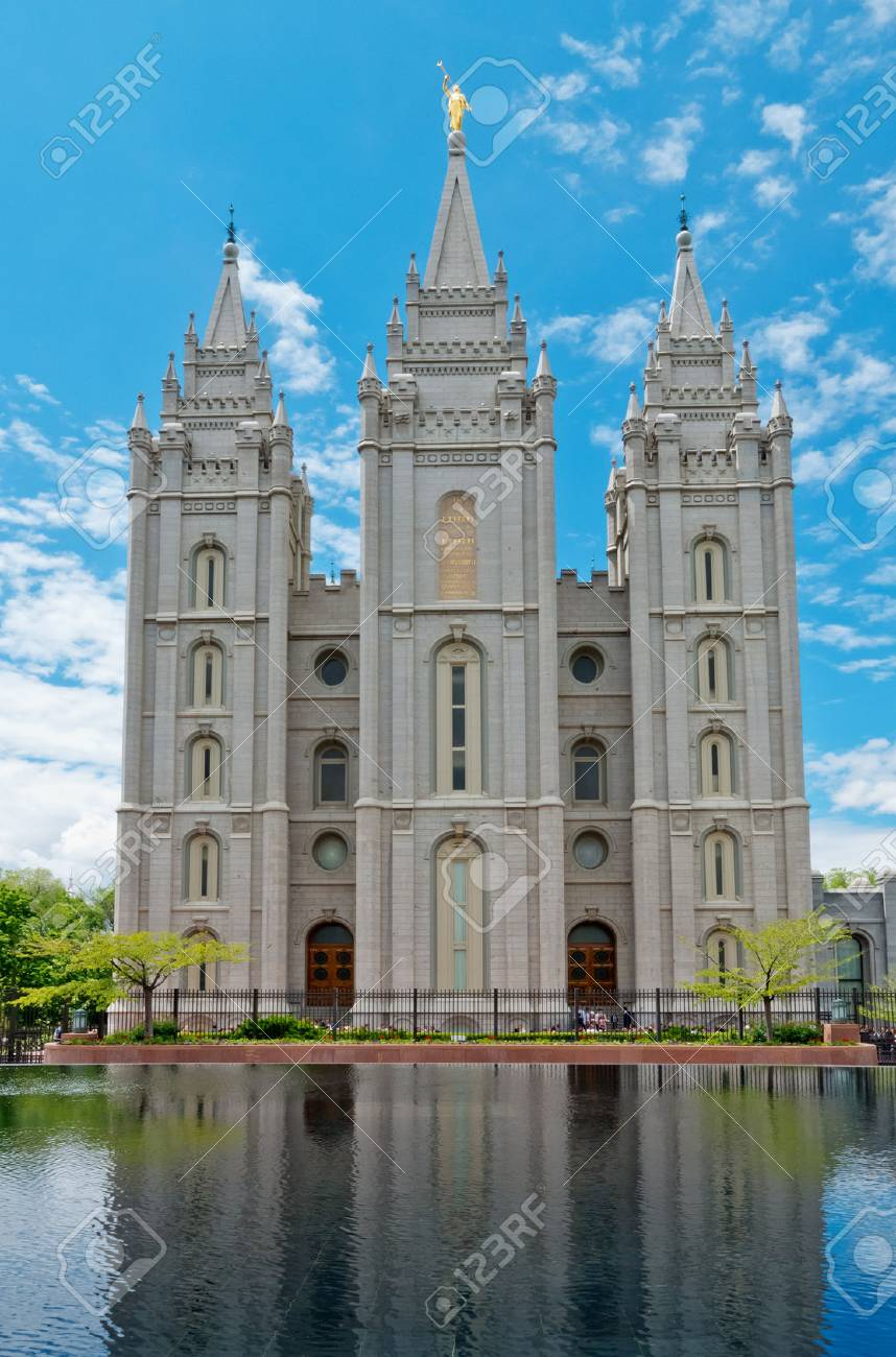 Salt Lake City, USA: Salt Lake Temple is a temple of The Church