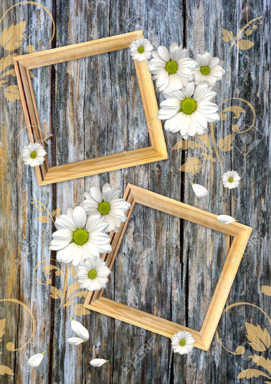 Vintage background on a wood wall - 14833382