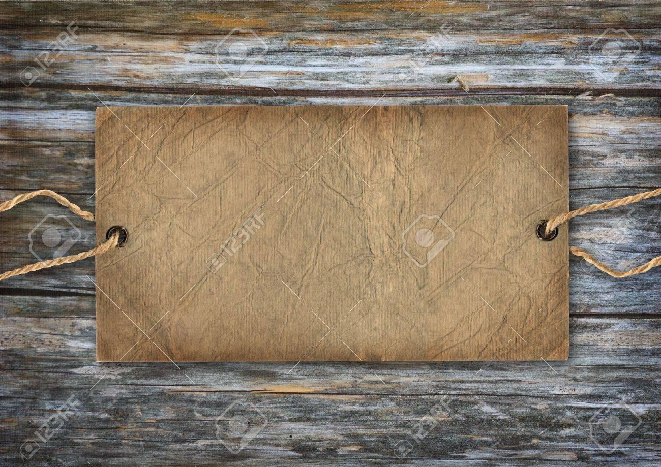 Vintage retro cardboard - 14833410