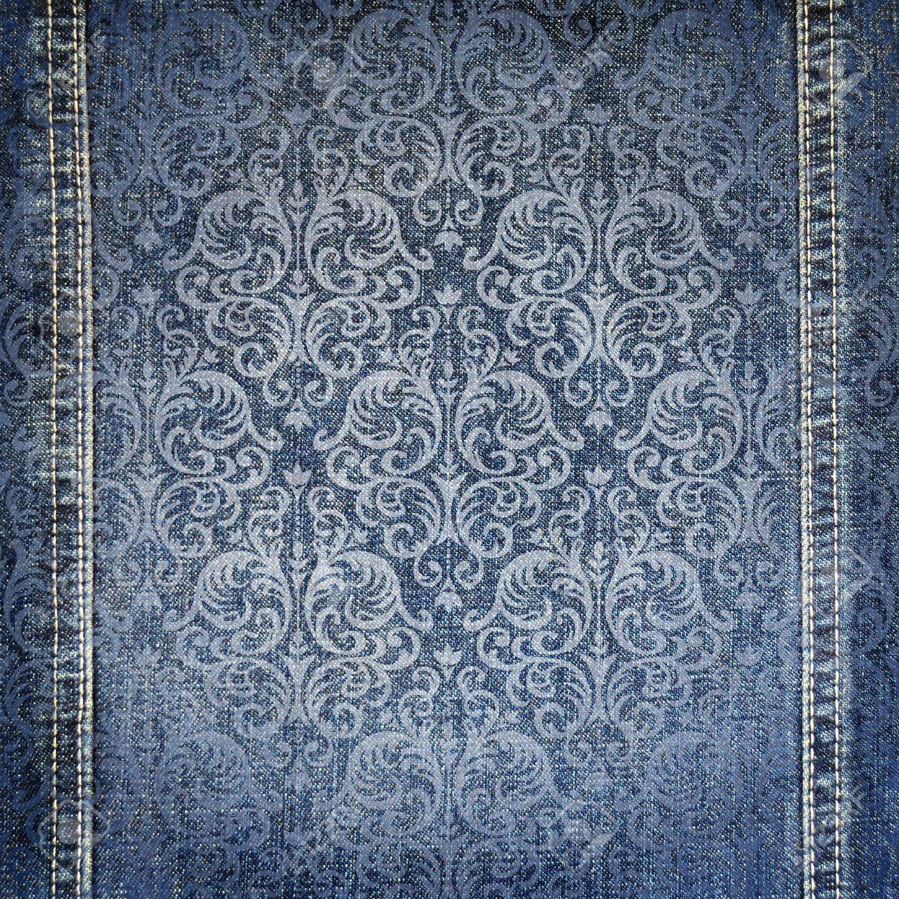 Abstract jeans backround - 14835567