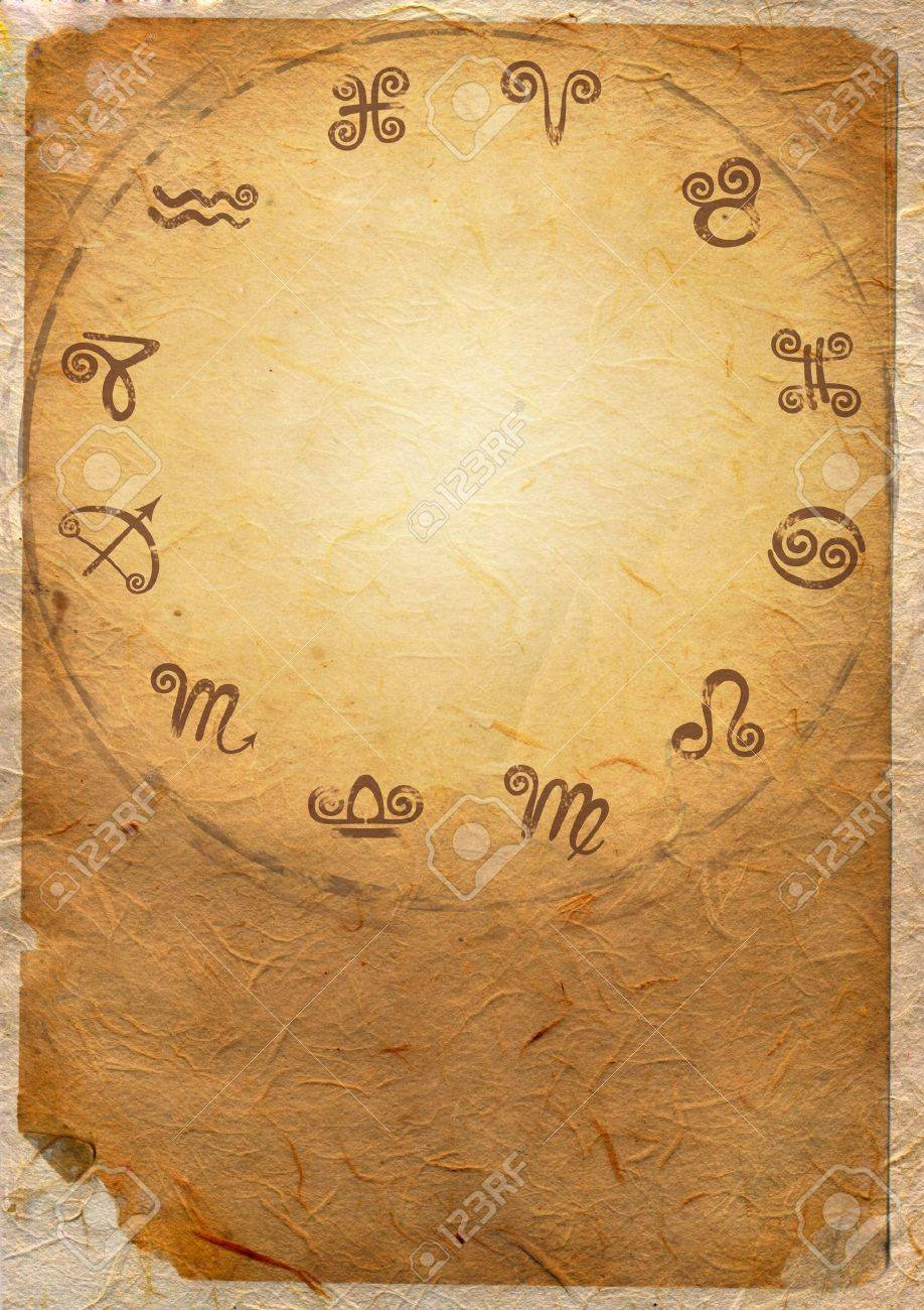 Horoscope zodiac star signs in the circle - 16279191