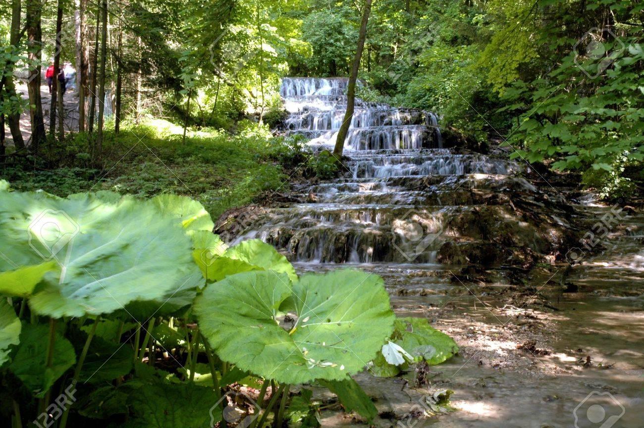 Veil Waterfall in the Szalajka Valley Stock Photo - 8534995