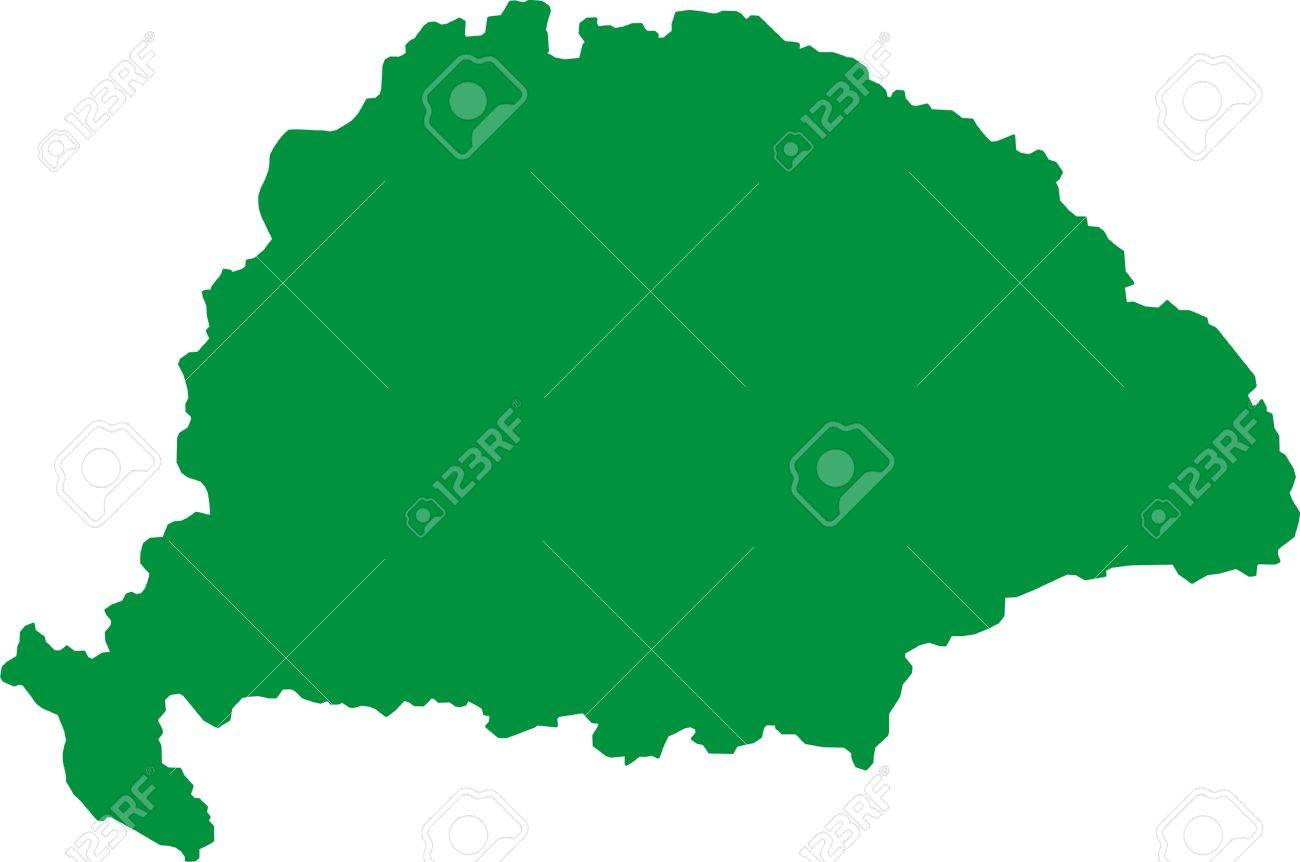 The historical Hungarian Empire before the Trianon Treaty Stock Vector - 19737315