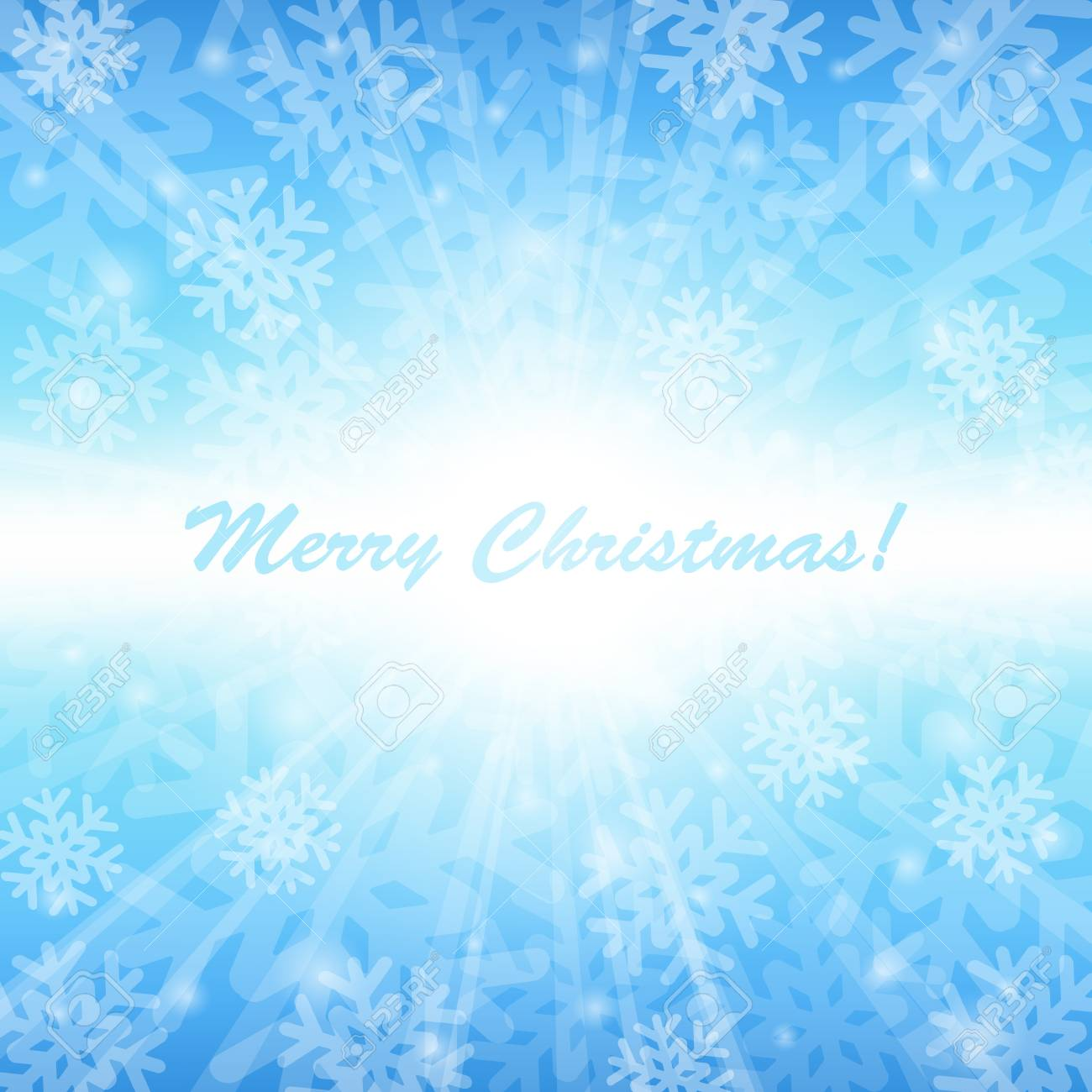 Blue Christmas background with snowflakes Stock Vector - 15788306