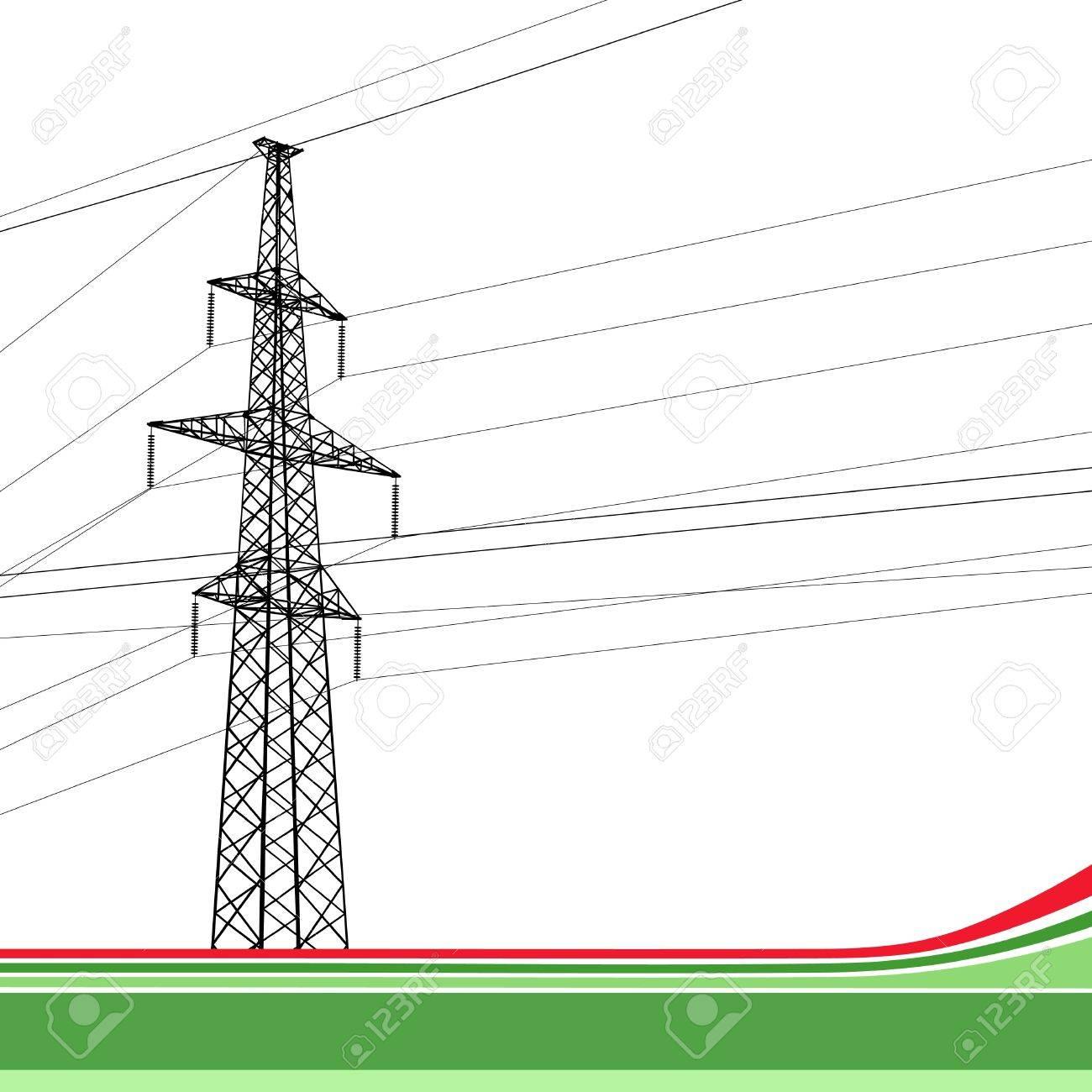 Power Tower High Voltage