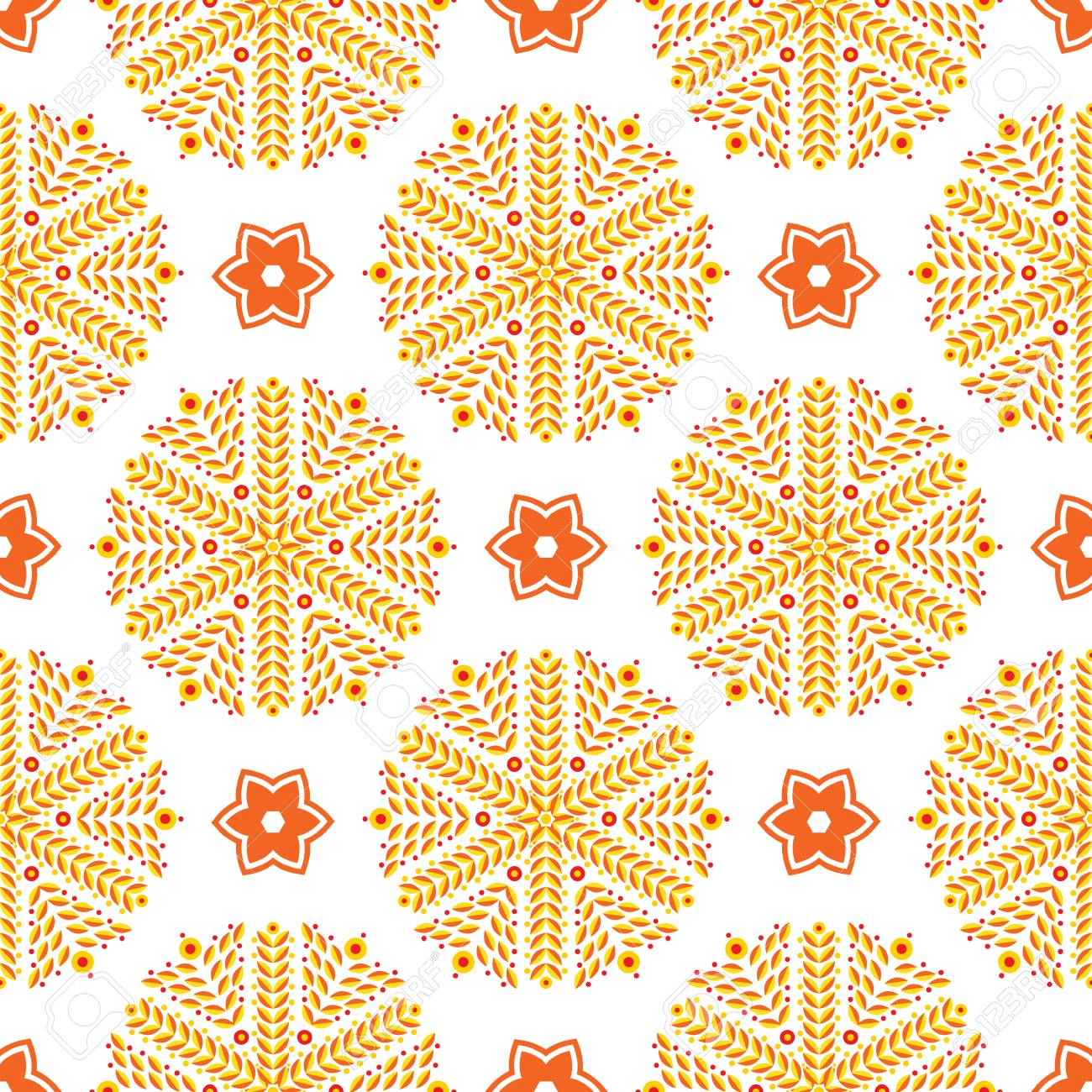48322303 orange luxury background art deco for background wallpaper scrapbooking prints