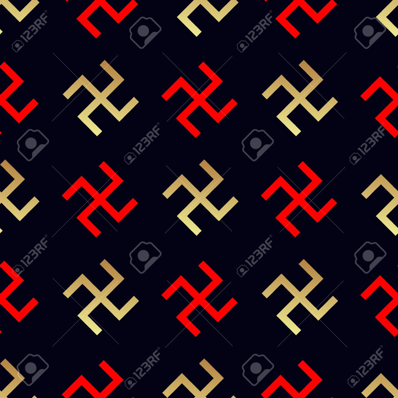Swastika seamless pattern rotating cross an ancient religious rotating cross an ancient religious symbol of the sun good buycottarizona Images