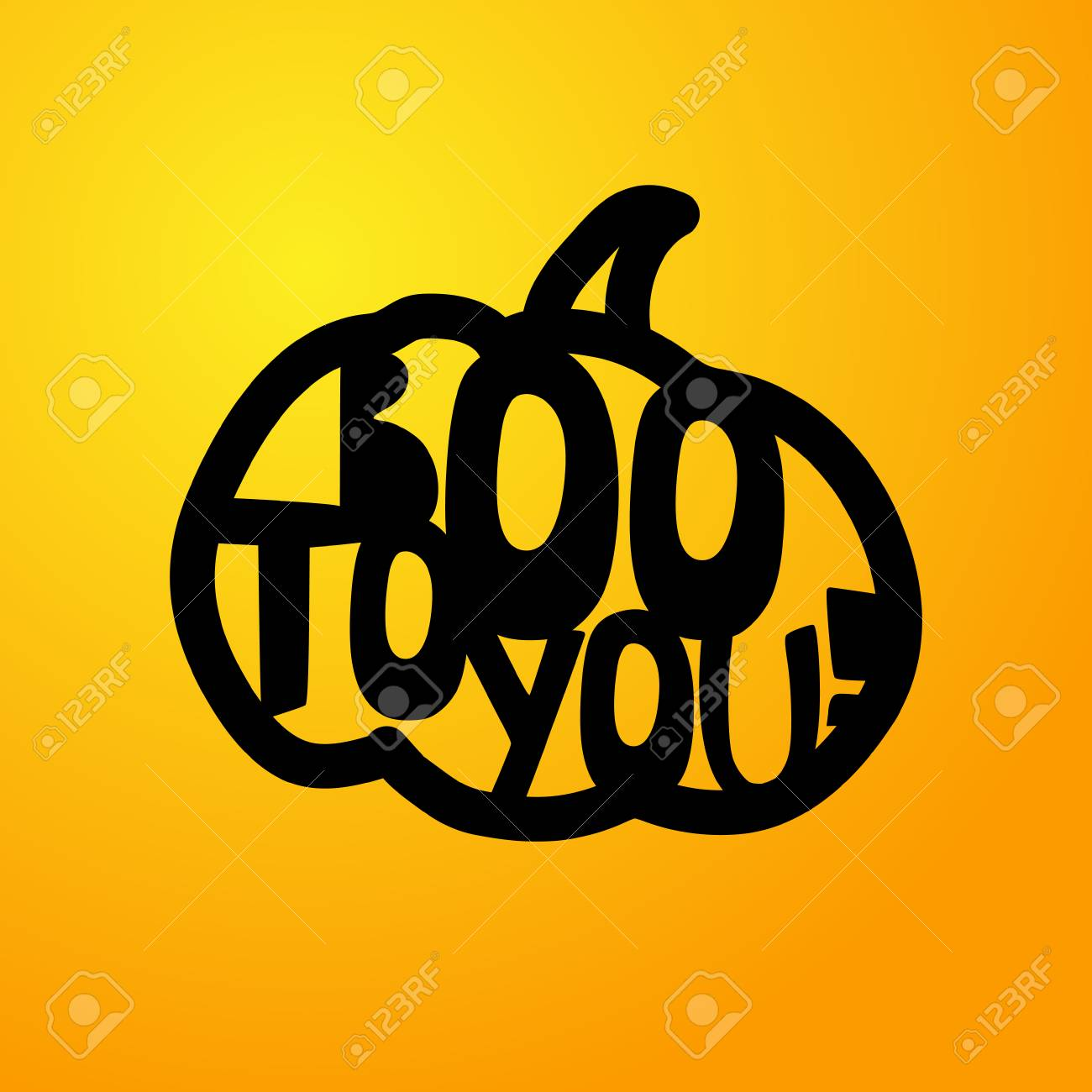 Halloween boo to you lettering laser cutting template for halloween boo to you lettering laser cutting template for greeting cards ornamented pronofoot35fo Gallery