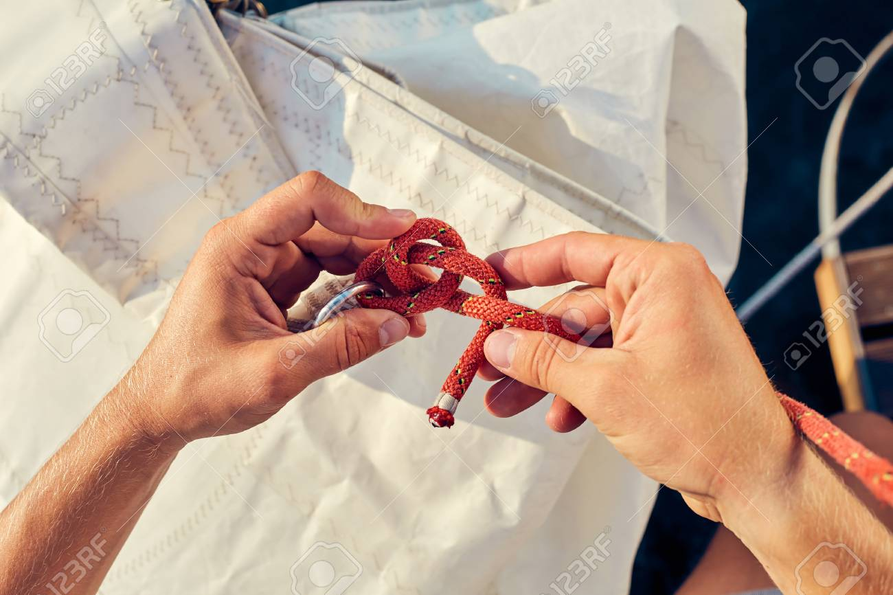 How to knit bowline knots: instructions 88