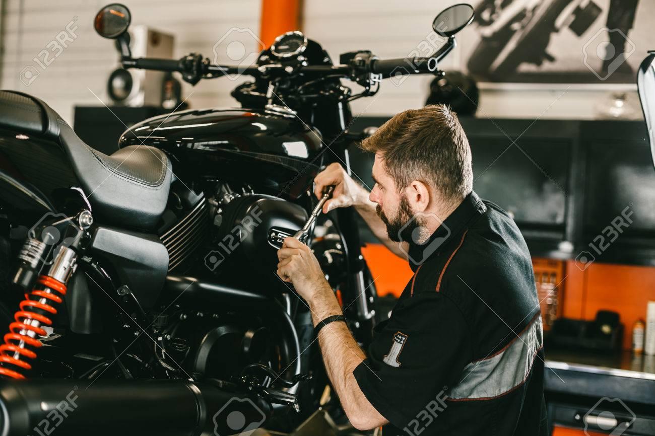 修理 バイク