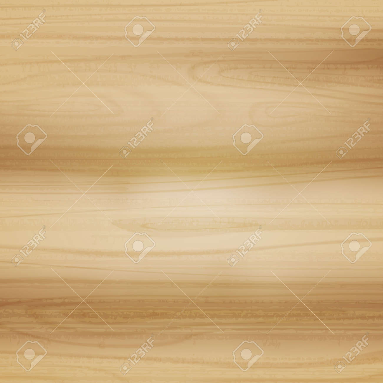 Realistic light wood pattern texture, background - Vector illustration - 167257573