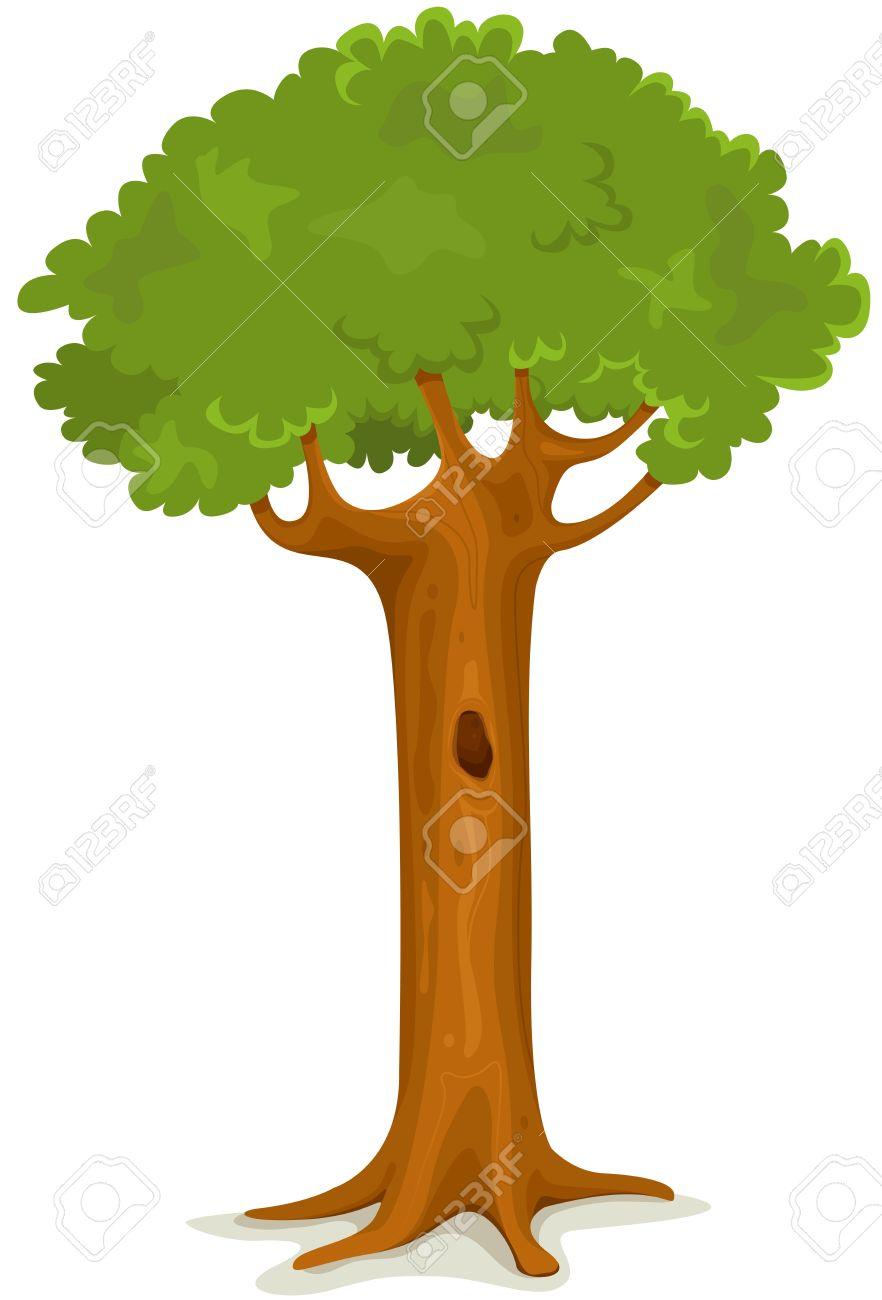 Рисуем дупло в дереве