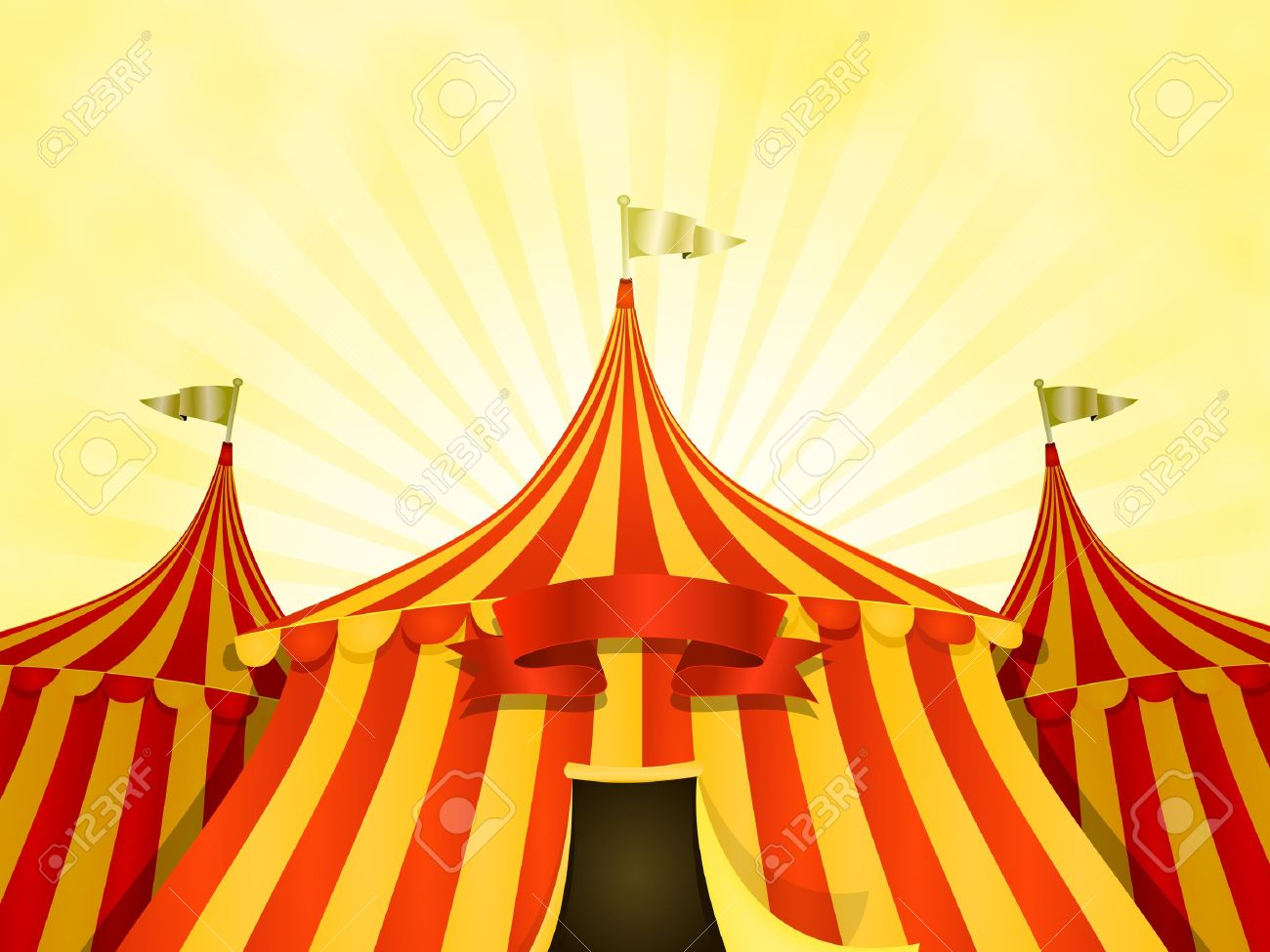 6 830 circus tent stock vector illustration and royalty free