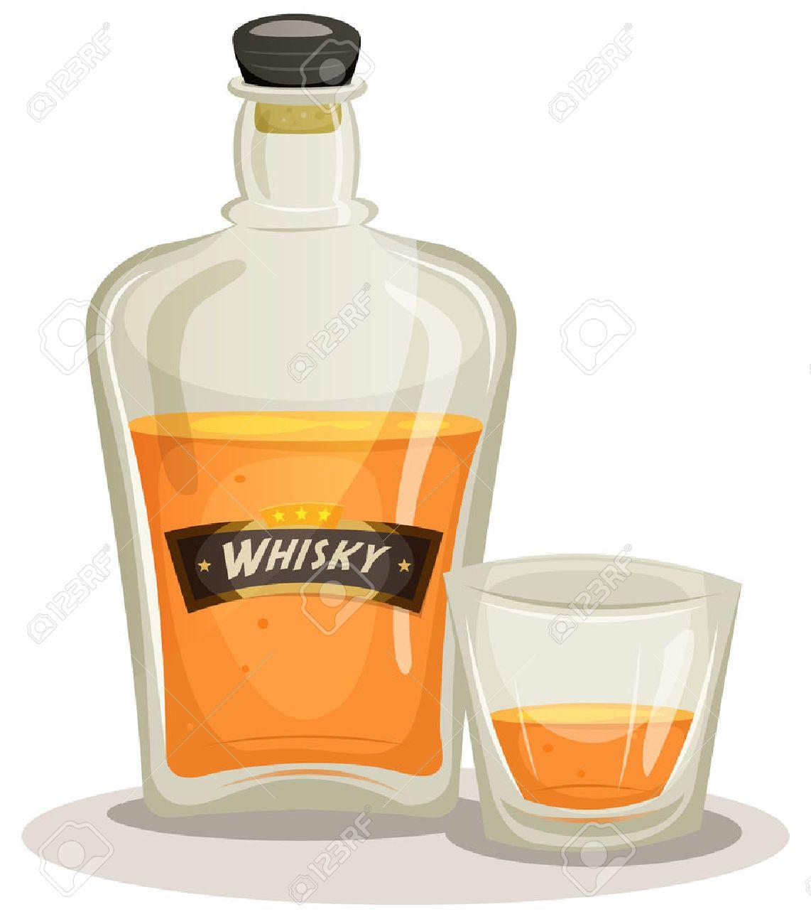 ウイスキー イラスト
