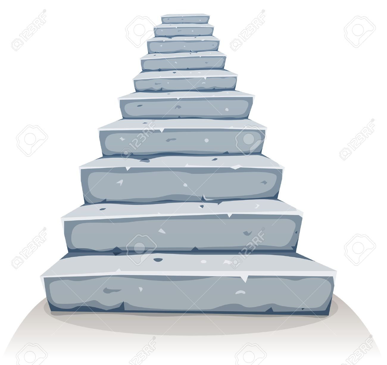 Illustration Of A Cartoon Funny Rock And Stone Stairway For Castle Royalty Free Cliparts Vectors And Stock Illustration Image 37377388