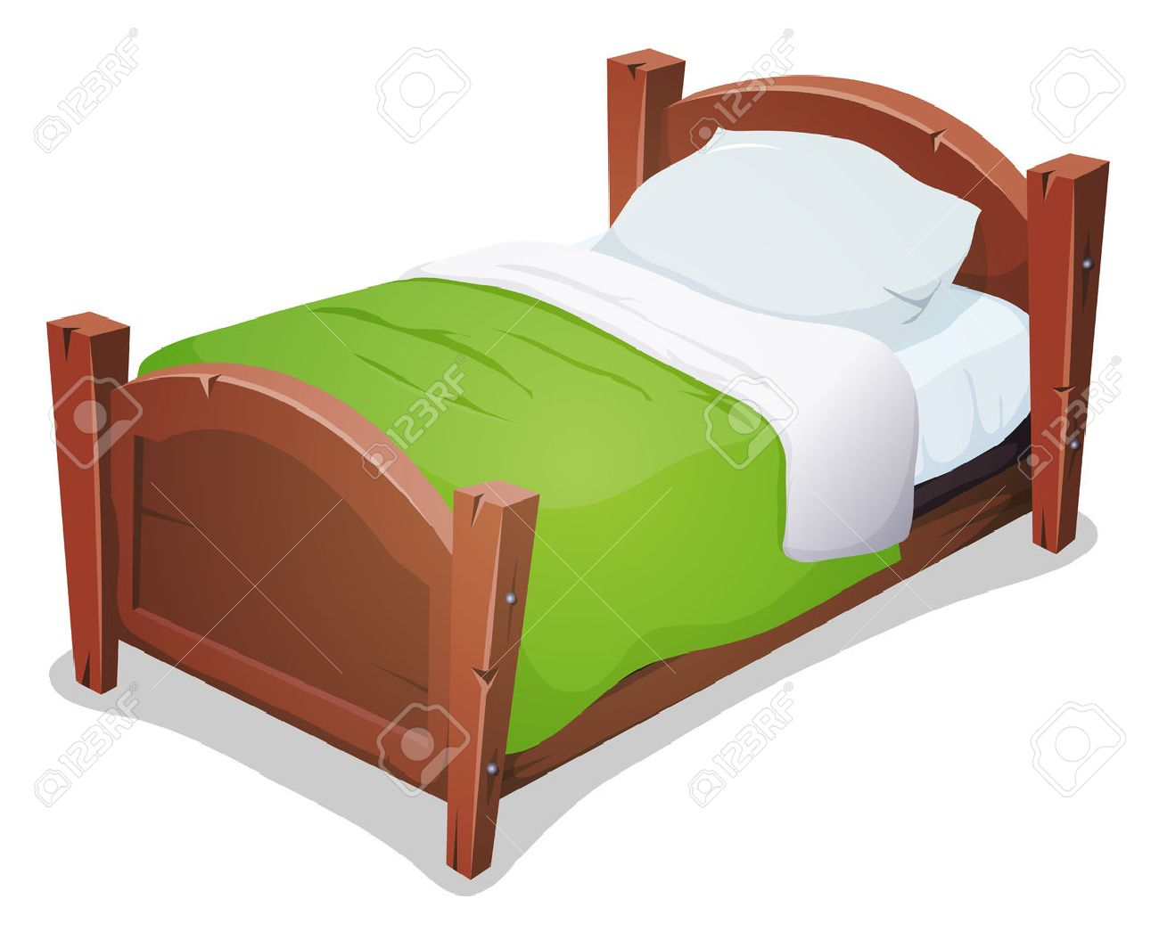Illustration Of A Cartoon Wooden Children Bed For Boys And Girls Royalty Free Cliparts Vectors And Stock Illustration Image 44194034 The best gifs are on giphy. illustration of a cartoon wooden children bed for boys and girls