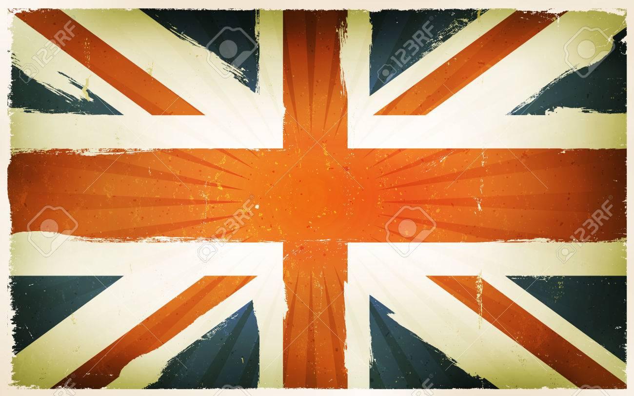 イギリスの国民の祝日のためのユニオン ジャック レトロや