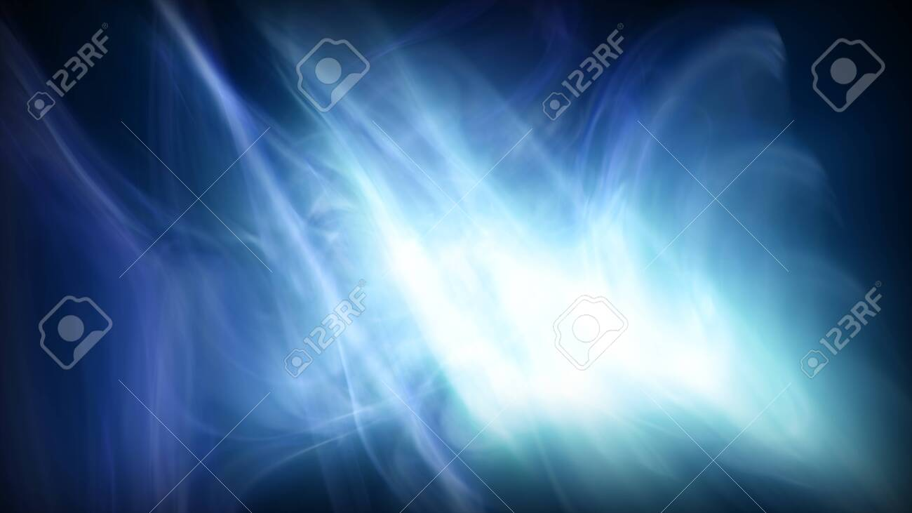 Illustration of an abstract background with motion effects and glowing patterns - 134807959