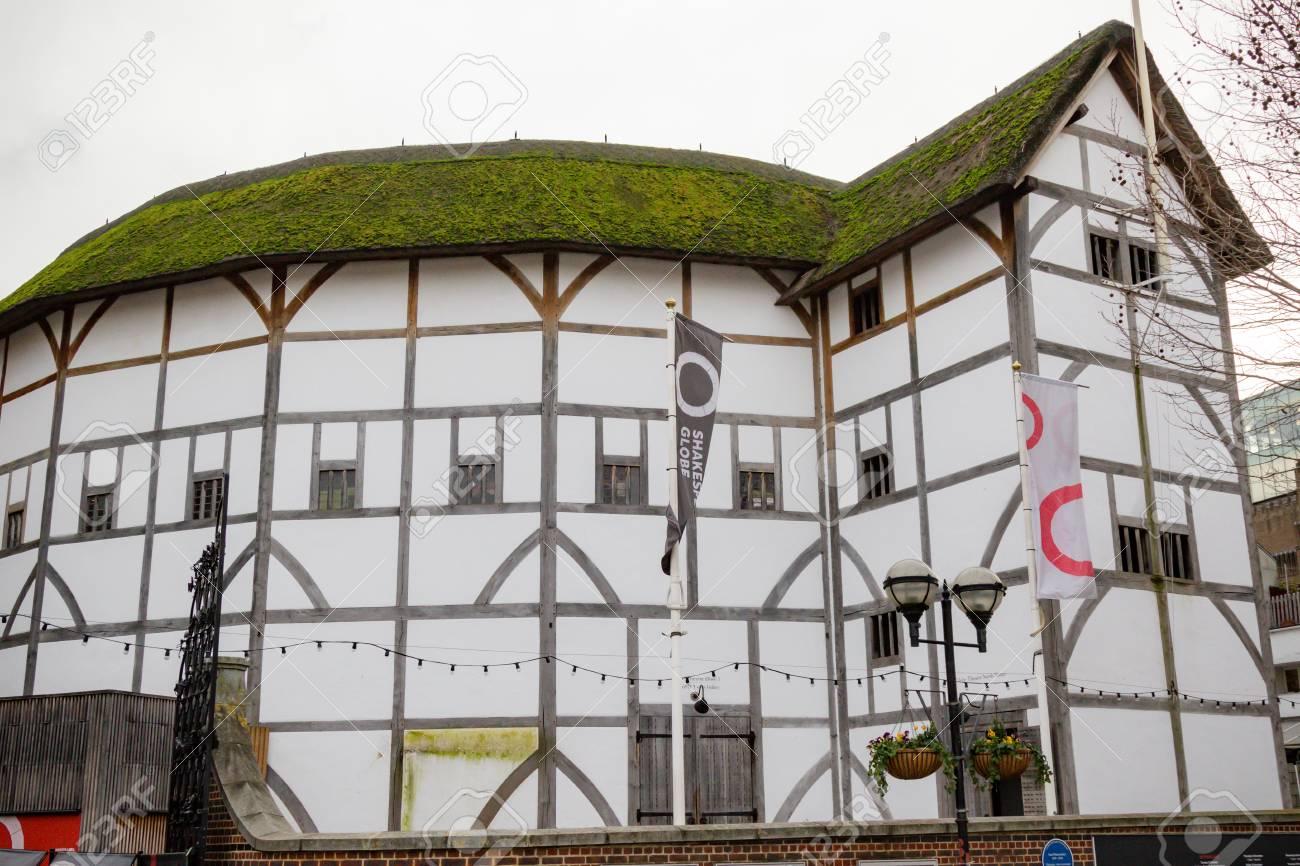 London United Kingdom 31st January 2019 Shakespeare S Globe Stock Photo Picture And Royalty Free Image Image 120301525