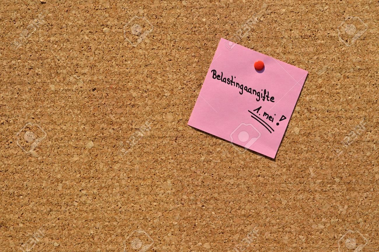 Rappel De La Date Limite Pour Remplir La Declaration D Impot Sur Le